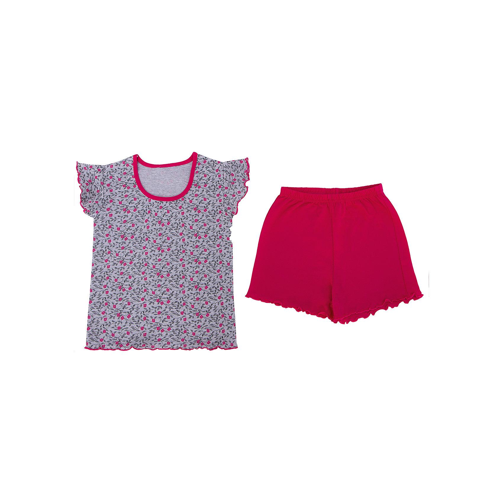Пижама для девочки АпрельПижамы и сорочки<br>Пижама для девочки от известного бренда Апрель.<br><br>Состав:<br>хлопок 100%, хлопок 65% + полиэстер 35%<br><br>Ширина мм: 281<br>Глубина мм: 70<br>Высота мм: 188<br>Вес г: 295<br>Цвет: розовый<br>Возраст от месяцев: 60<br>Возраст до месяцев: 72<br>Пол: Женский<br>Возраст: Детский<br>Размер: 116,122,128,98,104,110<br>SKU: 4768222