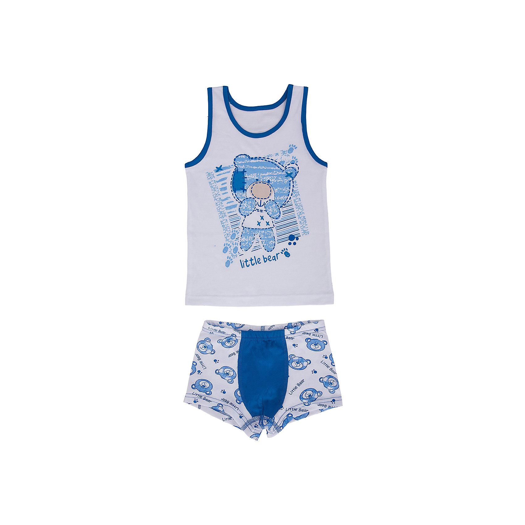 Комплект: майка и шорты для мальчика Апрель