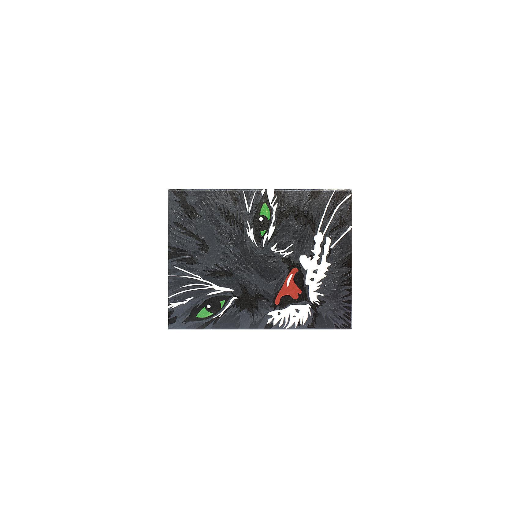 Росмэн Роспись по номерам Кот Маркиз росмэн роспись холста по номерам красные маки 40х50см