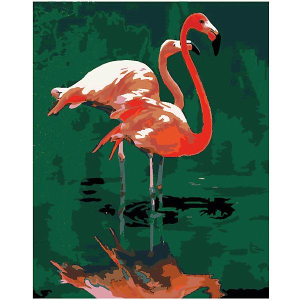 Роспись холста по номерам Розовый фламингоРаскраски по номерам<br>С этим замечательным набором создать прекрасную картину сможет любой человек от 7 до 99 лет, даже если он никогда раньше не ощущал себя художником. Нужно раскрасить пронумерованные фрагменты рисунка пронумерованными красками, которые ровно ложатся на холст и хорошо закрашивают контуры. А если вдруг появится ошибка, то исправить ее поможет контрольная схема рисунка. Раскрашивание холста увлекательно и для детей, и для взрослых. А получившаяся картина станет эффектным украшением интерьера. или же прекрасным подарком, сделанным своими руками. <br><br>Дополнительная информация:<br><br>- Комплектация: холст с контурным рисунком, натянутый на деревянную рамку, акриловые краски (23 цвета), 3 кисточки (2 тонкие, 1 широкая), крепежные петли для подвешивания холста, контрольная схема рисунка. <br>- Размер холста: 40х50 см.<br>- Материал: акриловые краски, дерево, пластик, бумага. <br><br>Роспись холста по номерам Розовый фламинго можно купить в нашем магазине.<br><br>Ширина мм: 400<br>Глубина мм: 500<br>Высота мм: 20<br>Вес г: 480<br>Возраст от месяцев: 84<br>Возраст до месяцев: 2147483647<br>Пол: Унисекс<br>Возраст: Детский<br>SKU: 4768549
