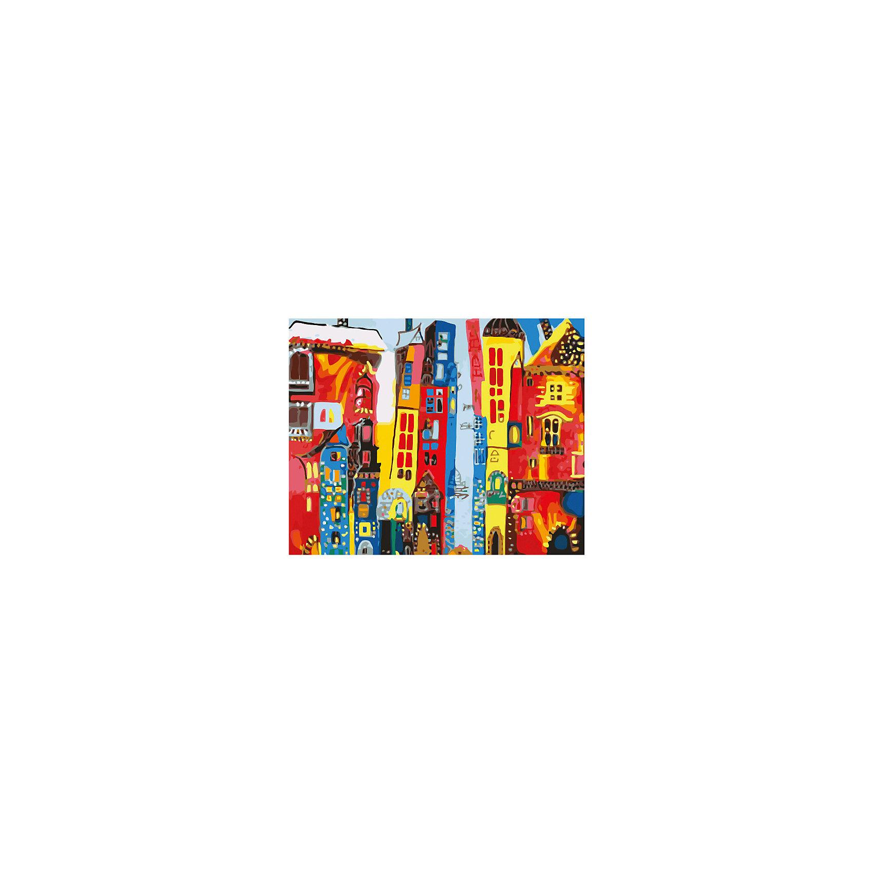 Роспись холста по номерам Город артРаскраски по номерам<br>С этим замечательным набором создать прекрасную картину сможет любой человек от 7 до 99 лет, даже если он никогда раньше не ощущал себя художником. Нужно раскрасить пронумерованные фрагменты рисунка пронумерованными красками, которые ровно ложатся на холст и хорошо закрашивают контуры. А если вдруг появится ошибка, то исправить ее поможет контрольная схема рисунка. Раскрашивание холста увлекательно и для детей, и для взрослых. А получившаяся картина станет эффектным украшением интерьера. или же прекрасным подарком, сделанным своими руками. <br><br>Дополнительная информация:<br><br>- Комплектация: холст  с контурным рисунком, натянутый на деревянную рамку, акриловые краски (24 цвета), 3 кисточки, крепежные петли для подвешивания холста, контрольная схема рисунка. <br>- Размер холста: 40х50 см.<br>- Материал: акриловые краски, дерево, пластик, бумага. <br><br>Роспись холста по номерам Город арт можно купить в нашем магазине.<br><br>Ширина мм: 500<br>Глубина мм: 400<br>Высота мм: 15<br>Вес г: 479<br>Возраст от месяцев: 84<br>Возраст до месяцев: 2147483647<br>Пол: Унисекс<br>Возраст: Детский<br>SKU: 4768553