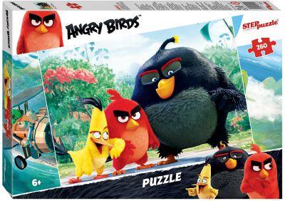 Степ Пазл Пазл Angry Birds , 260 деталей, Step Puzzle