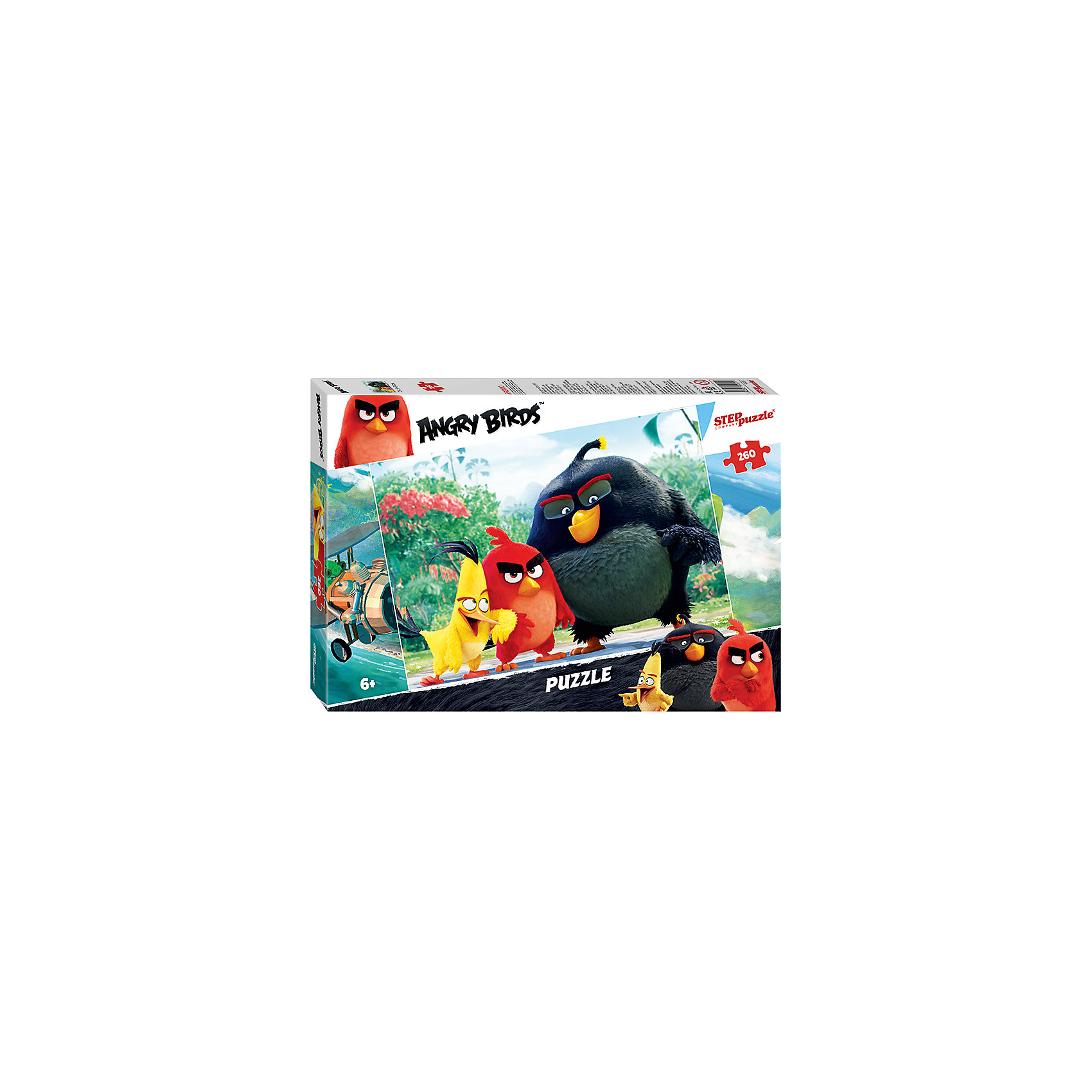 Степ Пазл Пазл Angry Birds, 260 деталей, Step Puzzle