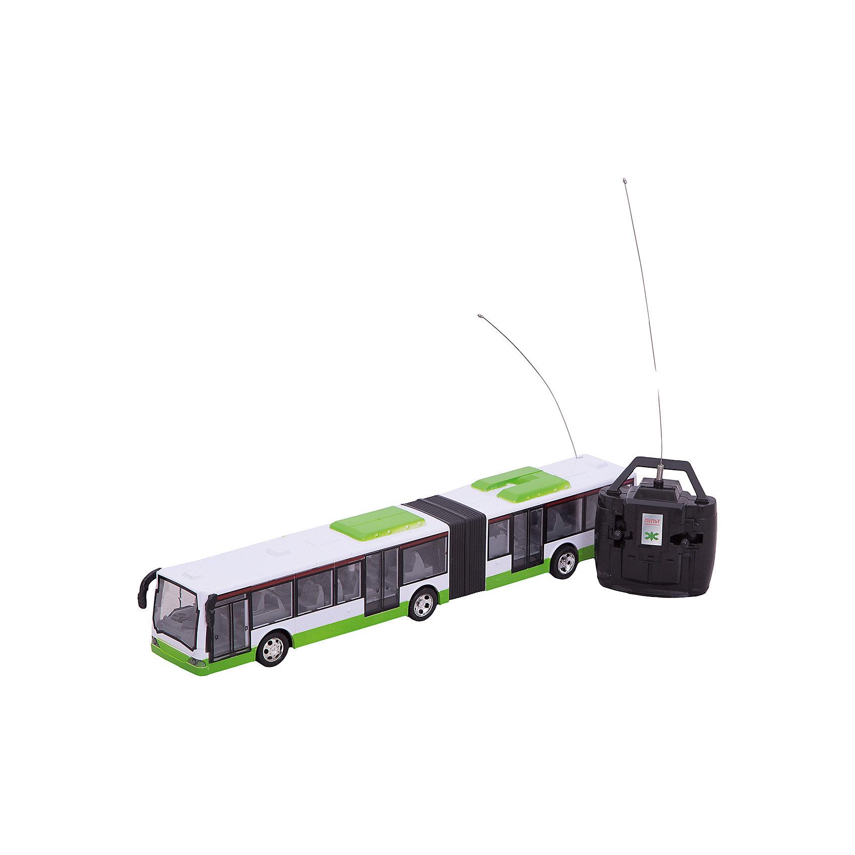 Играем вместе Городской Автобус , р/у, со светом и звуком, Играем вместе билет на автобус пенза белинский