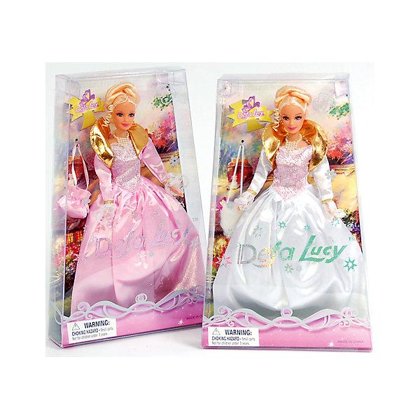 Кукла-принцесса с сумкой, Defa Lucy, в ассорт.Бренды кукол<br><br><br>Ширина мм: 210<br>Глубина мм: 330<br>Высота мм: 60<br>Вес г: 380<br>Возраст от месяцев: 36<br>Возраст до месяцев: 120<br>Пол: Женский<br>Возраст: Детский<br>SKU: 4769606