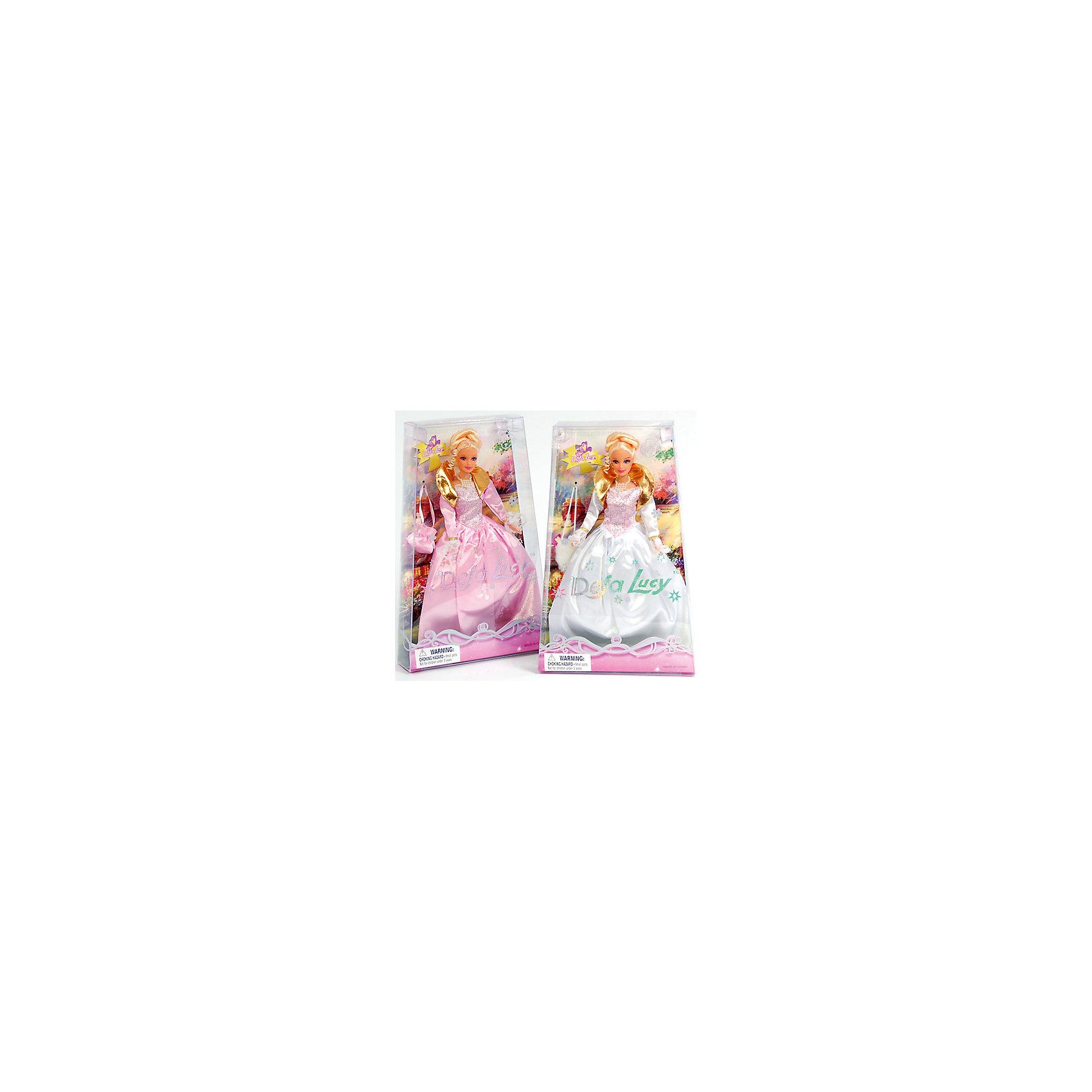 - Кукла-принцесса с сумкой, Defa Lucy, в ассорт. кукла defa lucy любимый малыш pink 5063pk