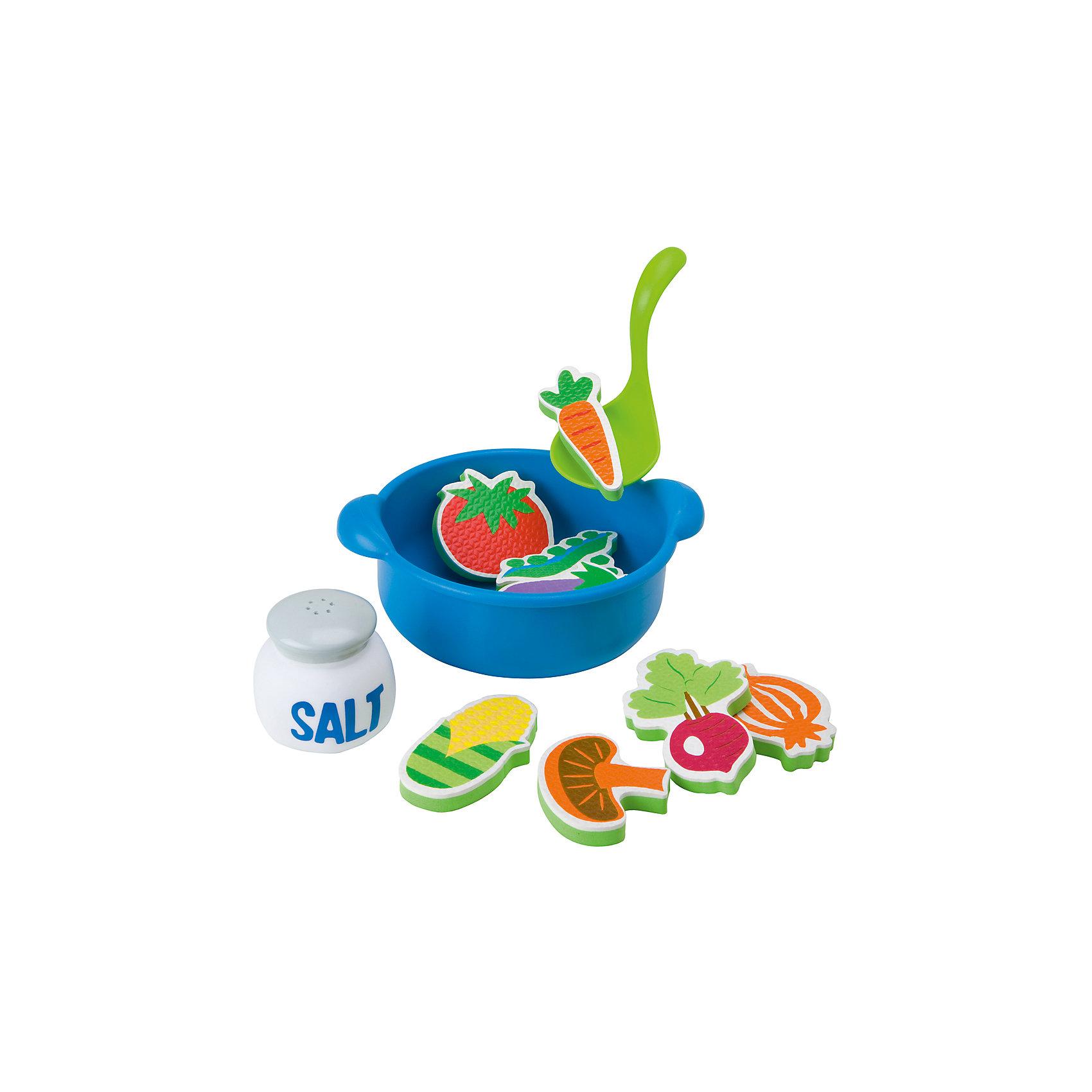 ALEX Набор для ванны Приготовь суп, 12 предметов, ALEX игрушки для ванны alex ферма