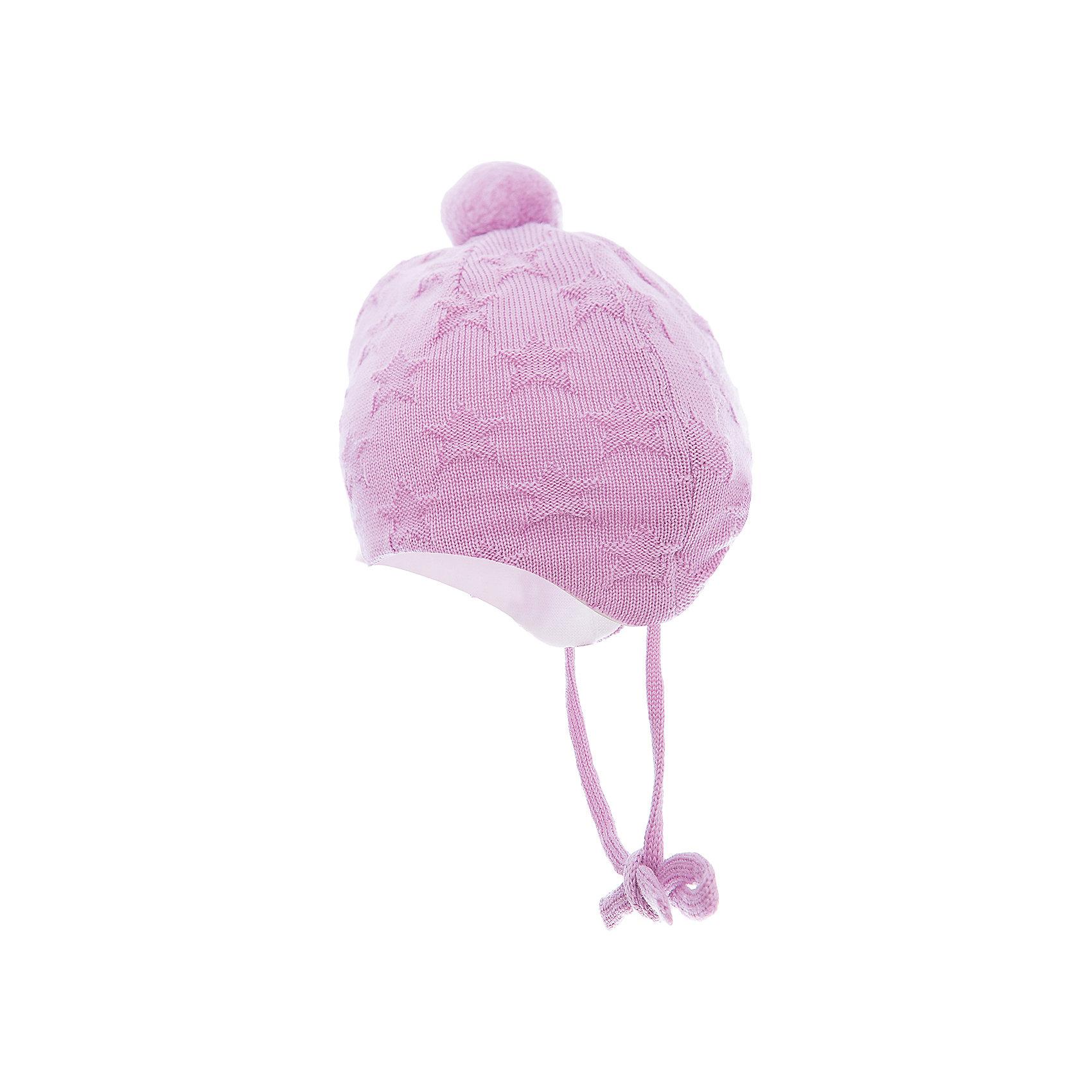 Шапка Lintu ReimaШапка  Reima<br>Шапка «Бини» для самых маленьких. Ткань из смеси мериносовой шерсти сохраняет тепло даже при намокании. Шерсть идеально поддерживает температуру. Теплая шерстяная вязка (волокно). Основной материал сертифицирован Oeko-Tex, класс 1, одежда для малышей. Любые размеры. Мягкая подкладка из хлопка и эластана. Задние швы отсутствуют. Логотип Reima® сбоку. Милый вязаный узор. Помпон сверху. Интересная структура поверхности.<br>Уход:<br>Стирать по отдельности, вывернув наизнанку. Придать первоначальную форму вo влажном виде. Возможна усадка 5 %.<br>Состав:<br>100% Шерсть<br><br>Ширина мм: 89<br>Глубина мм: 117<br>Высота мм: 44<br>Вес г: 155<br>Цвет: розовый<br>Возраст от месяцев: 4<br>Возраст до месяцев: 6<br>Пол: Женский<br>Возраст: Детский<br>Размер: 36-38,40-42,44-46<br>SKU: 4775564