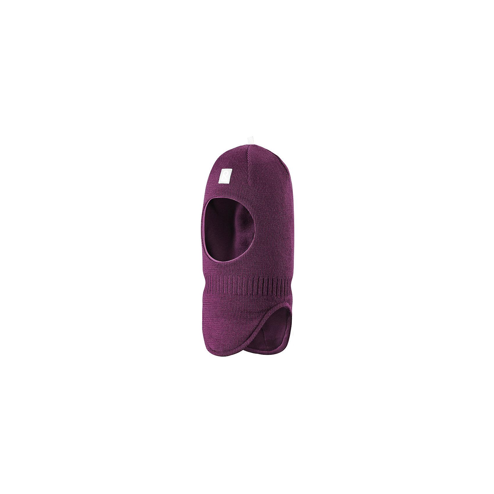 Шапка-шлем Starrie для девочки ReimaШапки и шарфы<br>Шапка  Reima<br>Шапка-шлем для малышей. Мягкая ткань из мериносовой шерсти для поддержания идеальной температуры тела. Теплая шерстяная вязка (волокно). Товар сертифицирован Oeko-Tex, класс 1, одежда для малышей. Ветронепроницаемые вставки в области ушей. Мягкая подкладка из хлопка и эластана. Светоотражающий элемент спереди.<br>Уход:<br>Стирать по отдельности, вывернув наизнанку. Придать первоначальную форму вo влажном виде. Возможна усадка 5 %.<br>Состав:<br>100% Шерсть<br><br>Ширина мм: 89<br>Глубина мм: 117<br>Высота мм: 44<br>Вес г: 155<br>Цвет: фиолетовый<br>Возраст от месяцев: 18<br>Возраст до месяцев: 36<br>Пол: Женский<br>Возраст: Детский<br>Размер: 50,52,46,54,48<br>SKU: 4775672