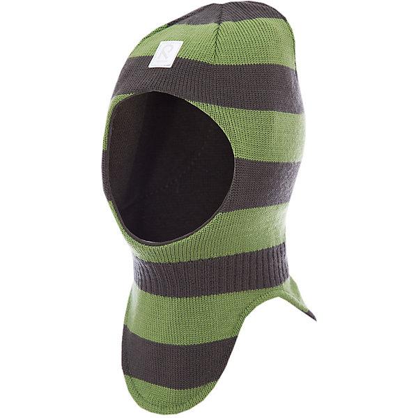 Шапка-шлем Starrie для мальчика ReimaШапки и шарфы<br>Шапка  Reima<br>Шапка-шлем для малышей. Мягкая ткань из мериносовой шерсти для поддержания идеальной температуры тела. Теплая шерстяная вязка (волокно). Товар сертифицирован Oeko-Tex, класс 1, одежда для малышей. Ветронепроницаемые вставки в области ушей. Мягкая подкладка из хлопка и эластана. Светоотражающий элемент спереди.<br>Уход:<br>Стирать по отдельности, вывернув наизнанку. Придать первоначальную форму вo влажном виде. Возможна усадка 5 %.<br>Состав:<br>100% Шерсть<br><br>Ширина мм: 89<br>Глубина мм: 117<br>Высота мм: 44<br>Вес г: 155<br>Цвет: зеленый<br>Возраст от месяцев: 6<br>Возраст до месяцев: 9<br>Пол: Мужской<br>Возраст: Детский<br>Размер: 46,54,52,50,48<br>SKU: 4775690