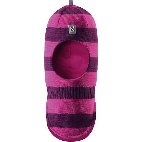 Шапка-шлем Starrie для девочки ReimaШапки и шарфы<br>Шапка  Reima<br>Шапка-шлем для малышей. Мягкая ткань из мериносовой шерсти для поддержания идеальной температуры тела. Теплая шерстяная вязка (волокно). Товар сертифицирован Oeko-Tex, класс 1, одежда для малышей. Ветронепроницаемые вставки в области ушей. Мягкая подкладка из хлопка и эластана. Светоотражающий элемент спереди.<br>Уход:<br>Стирать по отдельности, вывернув наизнанку. Придать первоначальную форму вo влажном виде. Возможна усадка 5 %.<br>Состав:<br>100% Шерсть<br>Ширина мм: 89; Глубина мм: 117; Высота мм: 44; Вес г: 155; Цвет: фиолетово-розовый; Возраст от месяцев: 9; Возраст до месяцев: 18; Пол: Женский; Возраст: Детский; Размер: 48,54,50,46,52; SKU: 4775714;