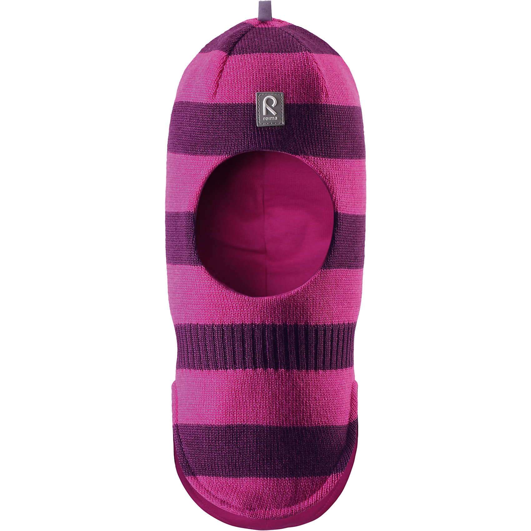 Шапка-шлем Starrie для девочки ReimaШапки и шарфы<br>Шапка  Reima<br>Шапка-шлем для малышей. Мягкая ткань из мериносовой шерсти для поддержания идеальной температуры тела. Теплая шерстяная вязка (волокно). Товар сертифицирован Oeko-Tex, класс 1, одежда для малышей. Ветронепроницаемые вставки в области ушей. Мягкая подкладка из хлопка и эластана. Светоотражающий элемент спереди.<br>Уход:<br>Стирать по отдельности, вывернув наизнанку. Придать первоначальную форму вo влажном виде. Возможна усадка 5 %.<br>Состав:<br>100% Шерсть<br><br>Ширина мм: 89<br>Глубина мм: 117<br>Высота мм: 44<br>Вес г: 155<br>Цвет: фиолетово-розовый<br>Возраст от месяцев: 9<br>Возраст до месяцев: 18<br>Пол: Женский<br>Возраст: Детский<br>Размер: 48,54,52,46,50<br>SKU: 4775714