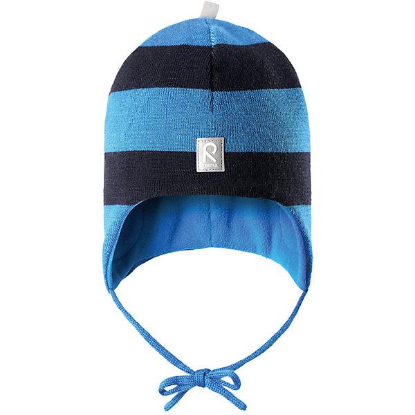 Шапка Auva ReimaШапки и шарфы<br>Шапка  Reima<br>Шапка «Бини» для малышей. Мягкая ткань из мериносовой шерсти для поддержания идеальной температуры тела. Теплая шерстяная вязка (волокно). Основной материал сертифицирован Oeko-Tex, класс 1, одежда для малышей. Ветронепроницаемые вставки в области ушей. Любые размеры. Мягкая теплая подкладка из поларфлиса. Светоотражающие детали сверху.<br>Уход:<br>Стирать по отдельности, вывернув наизнанку. Придать первоначальную форму вo влажном виде. Возможна усадка 5 %.<br>Состав:<br>100% Шерсть<br><br>Ширина мм: 89<br>Глубина мм: 117<br>Высота мм: 44<br>Вес г: 155<br>Цвет: голубой<br>Возраст от месяцев: 6<br>Возраст до месяцев: 9<br>Пол: Мужской<br>Возраст: Детский<br>Размер: 46,50,52,48<br>SKU: 4775731
