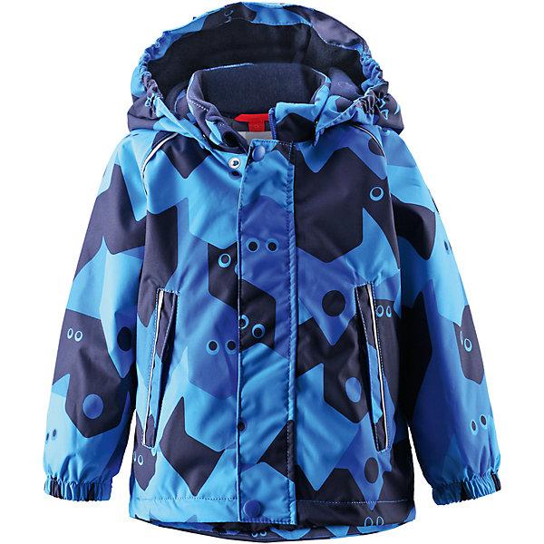 Куртка Pirtti для мальчика Reimatec® ReimaВерхняя одежда<br>Куртка  Reimatec® Reima<br>Зимняя куртка для малышей. Все швы проклеены и водонепроницаемы. Водо- и ветронепроницаемый, «дышащий» и грязеотталкивающий материал. Гладкая подкладка из полиэстра. Безопасный, отстегивающийся и регулируемый капюшон. Эластичные манжеты. Регулируемый подол. Два кармана на молнии. Принт по всей поверхности. Безопасные светоотражающие детали.<br>Утеплитель: Reima® Soft Loft insulation,160 g<br>Уход:<br>Стирать по отдельности, вывернув наизнанку. Застегнуть молнии и липучки. Стирать моющим средством, не содержащим отбеливающие вещества. Полоскать без специального средства. Во избежание изменения цвета изделие необходимо вынуть из стиральной машинки незамедлительно после окончания программы стирки. Можно сушить в сушильном шкафу или центрифуге (макс. 40° C).<br>Состав:<br>100% Полиамид, полиуретановое покрытие<br><br>Ширина мм: 356<br>Глубина мм: 10<br>Высота мм: 245<br>Вес г: 519<br>Цвет: голубой<br>Возраст от месяцев: 9<br>Возраст до месяцев: 12<br>Пол: Мужской<br>Возраст: Детский<br>Размер: 80,92,86,98<br>SKU: 4776031