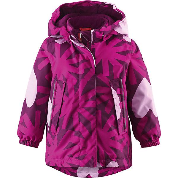 Куртка Misteli для девочки ReimaВерхняя одежда<br>Куртка для девочки Reima<br>Зимняя куртка для малышей. Основные швы проклеены и не пропускают влагу. Водо- и ветронепроницаемый, «дышащий» и грязеотталкивающий материал. Крой для девочек. Гладкая подкладка из полиэстра. Безопасный, съемный капюшон. Эластичные манжеты. Регулировка сзади. Трапециевидная форма с удлиненным сзади подолом. Два прорезных кармана. Безопасные светоотражающие детали.<br>Утеплитель: Reima® Soft Loft insulation,160 g<br>Уход:<br>Стирать по отдельности, вывернув наизнанку. Застегнуть молнии и липучки. Стирать моющим средством, не содержащим отбеливающие вещества. Полоскать без специального средства. Во избежание изменения цвета изделие необходимо вынуть из стиральной машинки незамедлительно после окончания программы стирки. Сушить при низкой температуре.<br>Состав:<br>100% Полиамид, полиуретановое покрытие<br><br>Ширина мм: 356<br>Глубина мм: 10<br>Высота мм: 245<br>Вес г: 519<br>Цвет: розовый<br>Возраст от месяцев: 24<br>Возраст до месяцев: 36<br>Пол: Женский<br>Возраст: Детский<br>Размер: 98,80,92,86<br>SKU: 4776083