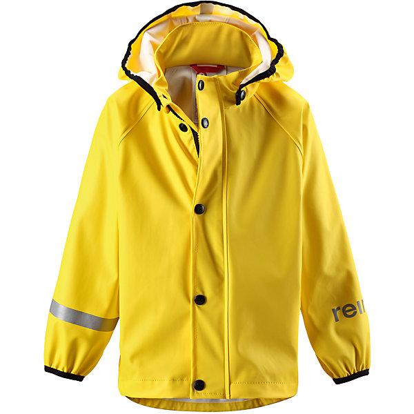 Плащ-дождевик Lampi ReimaВерхняя одежда<br>Плащ-дождевик  Reima<br>Куртка-дождевик для детей. Запаянные швы, не пропускающие влагу. Эластичный материал. Без ПХВ. Безопасный, съемный капюшон. Эластичная резинка на кромке капюшона. Эластичные манжеты. Молния спереди. Безопасные светоотражающие детали. Отличный вариант для дождливой погоды.<br>Уход:<br>Стирать по отдельности, вывернув наизнанку. Застегнуть молнии и липучки. Стирать моющим средством, не содержащим отбеливающие вещества. Полоскать без специального средства. Во избежание изменения цвета изделие необходимо вынуть из стиральной машинки незамедлительно после окончания программы стирки. Сушить при низкой температуре.<br>Состав:<br>100% Полиамид, полиуретановое покрытие<br>Ширина мм: 356; Глубина мм: 10; Высота мм: 245; Вес г: 519; Цвет: желтый; Возраст от месяцев: 108; Возраст до месяцев: 120; Пол: Унисекс; Возраст: Детский; Размер: 140,104,92,86,98,134,128,116,122,110; SKU: 4776426;