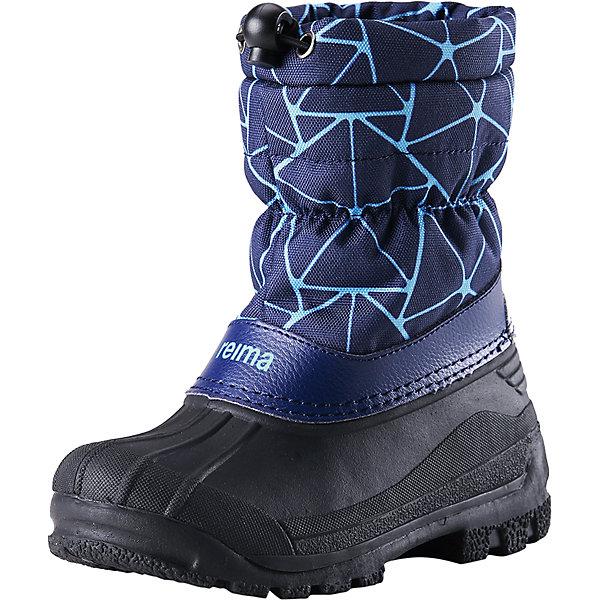 Ботинки Nefar для мальчика ReimaОбувь<br>Ботинки  Reimatec® Reima<br>Теплые сапоги для детей и малышей. Водоотталкивающая зимняя обувь с резиновыми галошами. Подошва из термопластичного каучука обеспечивает хорошее сцепление с поверхностью. Подкладка из искусственного меха. Легко надеваются на ноги. Отражатель на заднике. Снегозащитная манжета на воротнике. <br>Уход:<br>Храните обувь в вертикальном положении при комнатной температуре. Сушить обувь всегда следует при комнатной температуре: вынув съемные стельки. Стельки следует время от времени заменять на новые. Налипшую грязь можно счищать щеткой или влажной тряпкой. Перед использованием обувь рекомендуется обрабатывать специальными защитными средствами.<br>Состав:<br>Подошва: Термопластиковая резина, Верх: 80% ПЭ 20% Кожа<br>Ширина мм: 262; Глубина мм: 176; Высота мм: 97; Вес г: 427; Цвет: синий; Возраст от месяцев: 84; Возраст до месяцев: 96; Пол: Мужской; Возраст: Детский; Размер: 31,32,33,28,24,34,26,25,35,30,27,29; SKU: 4776783;