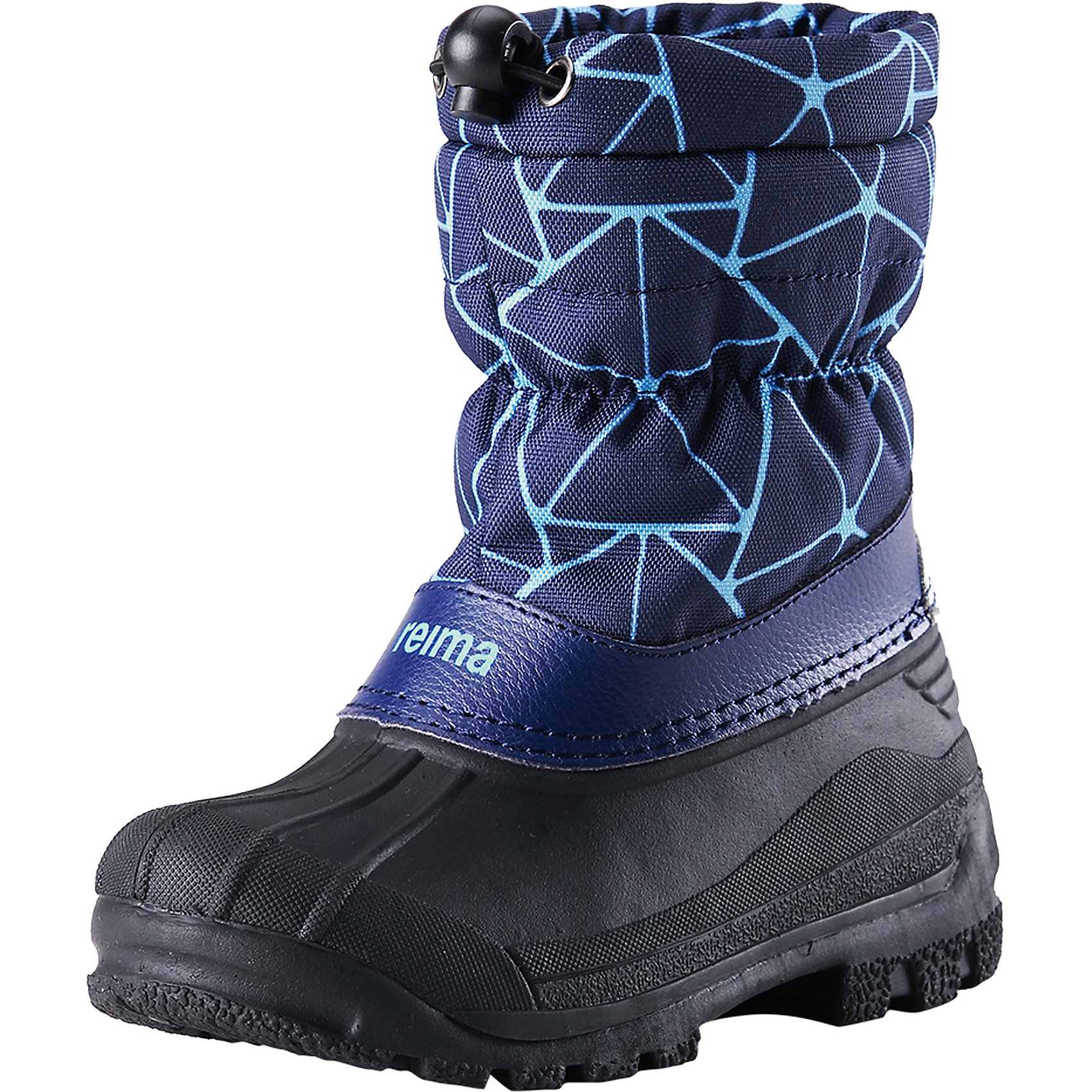 Ботинки Nefar для мальчика ReimaБотинки  Reimatec® Reima<br>Теплые сапоги для детей и малышей. Водоотталкивающая зимняя обувь с резиновыми галошами. Подошва из термопластичного каучука обеспечивает хорошее сцепление с поверхностью. Подкладка из искусственного меха. Легко надеваются на ноги. Отражатель на заднике. Снегозащитная манжета на воротнике. <br>Уход:<br>Храните обувь в вертикальном положении при комнатной температуре. Сушить обувь всегда следует при комнатной температуре: вынув съемные стельки. Стельки следует время от времени заменять на новые. Налипшую грязь можно счищать щеткой или влажной тряпкой. Перед использованием обувь рекомендуется обрабатывать специальными защитными средствами.<br>Состав:<br>Подошва: Термопластиковая резина, Верх: 80% ПЭ 20% Кожа<br><br>Ширина мм: 262<br>Глубина мм: 176<br>Высота мм: 97<br>Вес г: 427<br>Цвет: синий<br>Возраст от месяцев: 24<br>Возраст до месяцев: 24<br>Пол: Мужской<br>Возраст: Детский<br>Размер: 25,33,32,29,27,30,35,31,26,34,24,28<br>SKU: 4776783