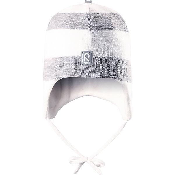 Шапка Auva ReimaШапки и шарфы<br>Шапка  Reima<br>Шапка «Бини» для малышей. Мягкая ткань из мериносовой шерсти для поддержания идеальной температуры тела. Теплая шерстяная вязка (волокно). Основной материал сертифицирован Oeko-Tex, класс 1, одежда для малышей. Ветронепроницаемые вставки в области ушей. Любые размеры. Мягкая теплая подкладка из поларфлиса. Светоотражающие детали сверху.<br>Уход:<br>Стирать по отдельности, вывернув наизнанку. Придать первоначальную форму вo влажном виде. Возможна усадка 5 %.<br>Состав:<br>100% Шерсть<br><br>Ширина мм: 89<br>Глубина мм: 117<br>Высота мм: 44<br>Вес г: 155<br>Цвет: белый<br>Возраст от месяцев: 6<br>Возраст до месяцев: 9<br>Пол: Унисекс<br>Возраст: Детский<br>Размер: 46,48,50,52<br>SKU: 4777087