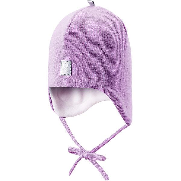 Шапка Auva для девочки ReimaШапки и шарфы<br>Шапка  Reima<br>Шапка «Бини» для малышей. Мягкая ткань из мериносовой шерсти для поддержания идеальной температуры тела. Теплая шерстяная вязка (волокно). Основной материал сертифицирован Oeko-Tex, класс 1, одежда для малышей. Ветронепроницаемые вставки в области ушей. Любые размеры. Мягкая теплая подкладка из поларфлиса. Светоотражающие детали сверху.<br>Уход:<br>Стирать по отдельности, вывернув наизнанку. Придать первоначальную форму вo влажном виде. Возможна усадка 5 %.<br>Состав:<br>100% Шерсть<br><br>Ширина мм: 89<br>Глубина мм: 117<br>Высота мм: 44<br>Вес г: 155<br>Цвет: розовый<br>Возраст от месяцев: 24<br>Возраст до месяцев: 60<br>Пол: Женский<br>Возраст: Детский<br>Размер: 52,48,50,46<br>SKU: 4777092