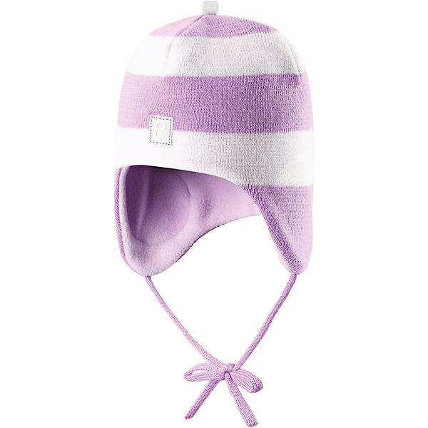 Шапка Auva ReimaШапки и шарфы<br>Шапка  Reima<br>Шапка «Бини» для малышей. Мягкая ткань из мериносовой шерсти для поддержания идеальной температуры тела. Теплая шерстяная вязка (волокно). Основной материал сертифицирован Oeko-Tex, класс 1, одежда для малышей. Ветронепроницаемые вставки в области ушей. Любые размеры. Мягкая теплая подкладка из поларфлиса. Светоотражающие детали сверху.<br>Уход:<br>Стирать по отдельности, вывернув наизнанку. Придать первоначальную форму вo влажном виде. Возможна усадка 5 %.<br>Состав:<br>100% Шерсть<br><br>Ширина мм: 89<br>Глубина мм: 117<br>Высота мм: 44<br>Вес г: 155<br>Цвет: розовый<br>Возраст от месяцев: 9<br>Возраст до месяцев: 18<br>Пол: Женский<br>Возраст: Детский<br>Размер: 48,46,52,50<br>SKU: 4777097
