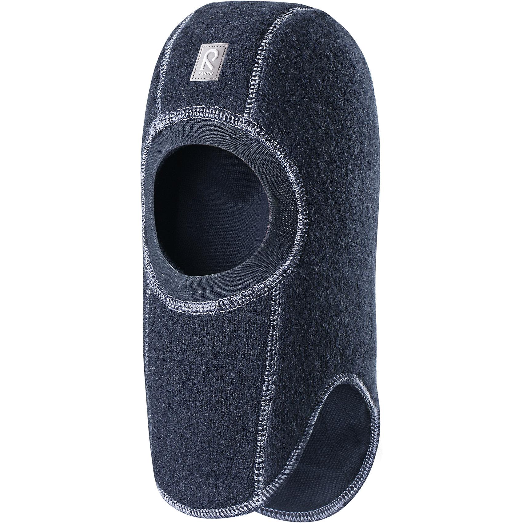 Шапка-шлем Repolainen ReimaШапки и шарфы<br>Шапка  Reima<br>Шапка-шлем для малышей. Шерсть идеально поддерживает температуру. Теплая шерстяная вязка (волокно). Товар сертифицирован Oeko-Tex, класс 1, одежда для малышей. Ветронепроницаемые вставки в области ушей. Мягкая подкладка из хлопка и эластана. Интересная структура поверхности. Светоотражающий элемент спереди.<br>Уход:<br>Стирать по отдельности, вывернув наизнанку. Придать первоначальную форму вo влажном виде. Возможна усадка 5 %.<br>Состав:<br>100% Шерсть<br><br>Ширина мм: 89<br>Глубина мм: 117<br>Высота мм: 44<br>Вес г: 155<br>Цвет: синий<br>Возраст от месяцев: 9<br>Возраст до месяцев: 18<br>Пол: Мужской<br>Возраст: Детский<br>Размер: 48,52,50,46<br>SKU: 4777127