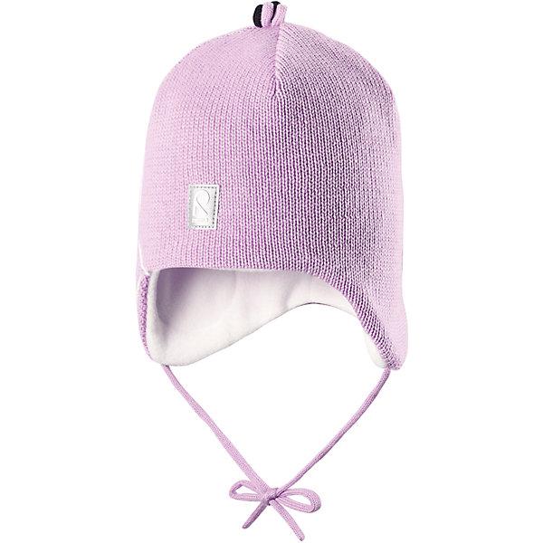 Шапка Hapsu для девочки ReimaШапки и шарфы<br>Шапка для девочки Reima<br>Шапка «Бини» для малышей. Шерсть идеально поддерживает температуру. Теплая шерстяная вязка (волокно). Товар сертифицирован Oeko-Tex, класс 1, одежда для малышей. Ветронепроницаемые вставки в области ушей. Любые размеры. Мягкая теплая подкладка из поларфлиса. Логотип Reima® спереди. Милый вязаный узор. Декоративные элементы сверху. Светоотражающий элемент спереди.<br>Уход:<br>Стирать по отдельности, вывернув наизнанку. Придать первоначальную форму вo влажном виде. Возможна усадка 5 %.<br>Состав:<br>100% Шерсть<br><br>Ширина мм: 89<br>Глубина мм: 117<br>Высота мм: 44<br>Вес г: 155<br>Цвет: розовый<br>Возраст от месяцев: 9<br>Возраст до месяцев: 18<br>Пол: Женский<br>Возраст: Детский<br>Размер: 48,50,46,52<br>SKU: 4777142