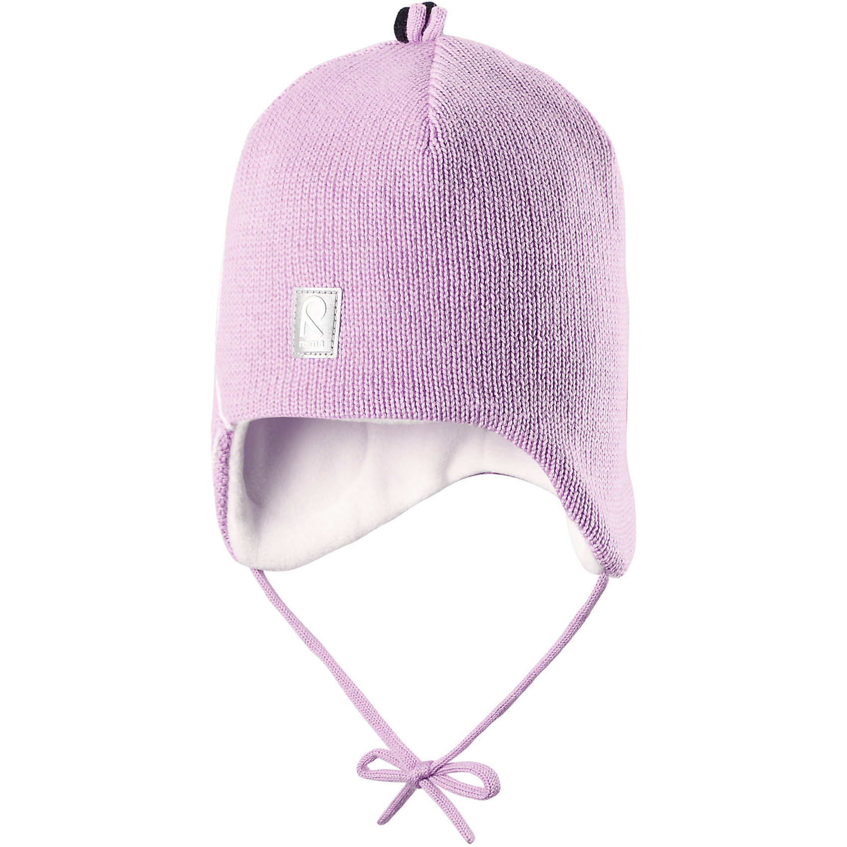 Шапка Hapsu для девочки ReimaШапки и шарфы<br>Шапка для девочки Reima<br>Шапка «Бини» для малышей. Шерсть идеально поддерживает температуру. Теплая шерстяная вязка (волокно). Товар сертифицирован Oeko-Tex, класс 1, одежда для малышей. Ветронепроницаемые вставки в области ушей. Любые размеры. Мягкая теплая подкладка из поларфлиса. Логотип Reima® спереди. Милый вязаный узор. Декоративные элементы сверху. Светоотражающий элемент спереди.<br>Уход:<br>Стирать по отдельности, вывернув наизнанку. Придать первоначальную форму вo влажном виде. Возможна усадка 5 %.<br>Состав:<br>100% Шерсть<br><br>Ширина мм: 89<br>Глубина мм: 117<br>Высота мм: 44<br>Вес г: 155<br>Цвет: розовый<br>Возраст от месяцев: 18<br>Возраст до месяцев: 36<br>Пол: Женский<br>Возраст: Детский<br>Размер: 50,48,52,46<br>SKU: 4777142
