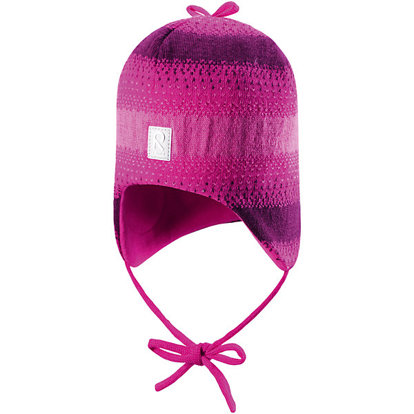 Шапка Pilvet для девочки ReimaШапки и шарфы<br>Шапка для девочки Reima<br>Шапка «Бини» для малышейМягкая ткань из мериносовой шерсти для поддержания идеальной температуры телаТеплая шерстяная вязка (волокно)Товар сертифицирован Oeko-Tex, класс 1, одежда для малышейВетронепроницаемые вставки в области ушейЛюбые размерыМягкая подкладка из хлопка и эластанаЛоготип Reima® спередиУзор из цветных полосДекоративные элементы сверхуСветоотражающий элемент спереди<br>Уход:<br>Стирать по отдельности, вывернув наизнанку. Придать первоначальную форму вo влажном виде. Возможна усадка 5 %.<br>Состав:<br>100% Шерсть<br><br>Ширина мм: 89<br>Глубина мм: 117<br>Высота мм: 44<br>Вес г: 155<br>Цвет: розовый<br>Возраст от месяцев: 6<br>Возраст до месяцев: 9<br>Пол: Женский<br>Возраст: Детский<br>Размер: 46,50,52,48<br>SKU: 4777167