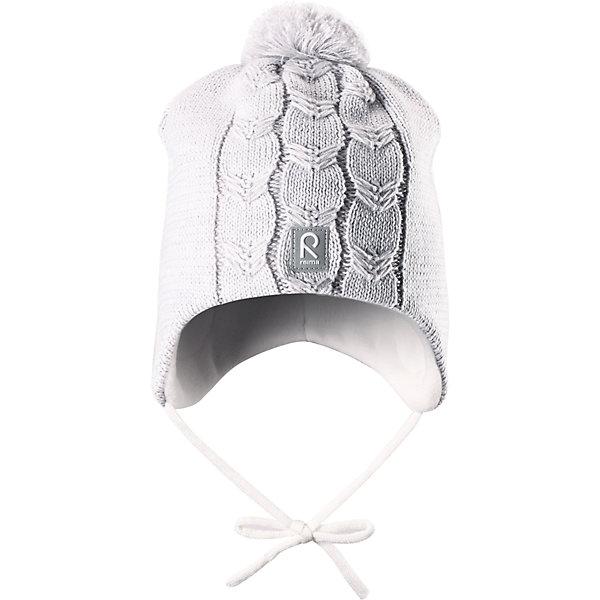 Шапка Piilossa для девочки ReimaШапки и шарфы<br>Шапка для девочки Reima<br>Шапка «Бини» для малышей. Мягкая ткань из мериносовой шерсти для поддержания идеальной температуры тела. Теплый толстый качественный трикотаж. Товар сертифицирован Oeko-Tex, класс 1, одежда для малышей. Ветронепроницаемые вставки в области ушей. Любые размеры. Мягкая теплая подкладка из поларфлиса. Логотип Reima® спереди. Помпон сверху. Интересная структура поверхности. Светоотражающий элемент спереди.<br>Уход:<br>Стирать по отдельности, вывернув наизнанку. Придать первоначальную форму вo влажном виде. Возможна усадка 5 %.<br>Состав:<br>100% Шерсть<br><br>Ширина мм: 89<br>Глубина мм: 117<br>Высота мм: 44<br>Вес г: 155<br>Цвет: белый<br>Возраст от месяцев: 18<br>Возраст до месяцев: 36<br>Пол: Женский<br>Возраст: Детский<br>Размер: 50,52,46,48<br>SKU: 4777217