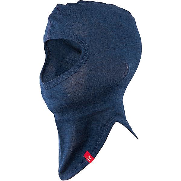 Шапка-шлем Howl ReimaШапки и шарфы<br>Шапка  Reima<br>Шапка-шлем базового слоя для детей. Мягкая ткань из мериносовой шерсти для поддержания идеальной температуры тела. Облегченный материал! Легкий стиль, без подкладки. Логотип Reima® сбоку.<br>Уход:<br>Стирать по отдельности, вывернув наизнанку. Придать первоначальную форму вo влажном виде. Возможна усадка 5 %.<br>Состав:<br>100% Шерсть<br>Ширина мм: 89; Глубина мм: 117; Высота мм: 44; Вес г: 155; Цвет: синий; Возраст от месяцев: 6; Возраст до месяцев: 9; Пол: Мужской; Возраст: Детский; Размер: 46,54,50; SKU: 4777745;