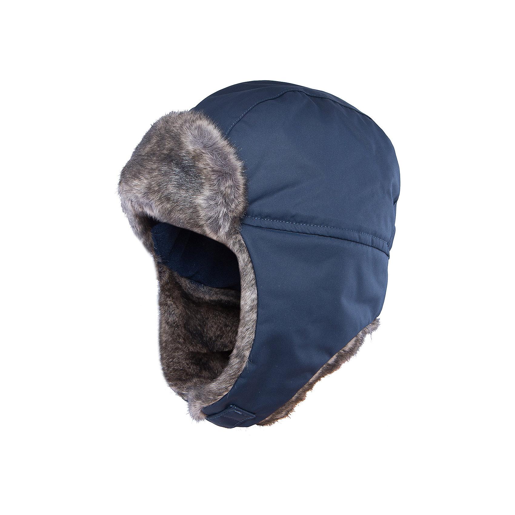 Шапка Ilves для мальчика ReimaШапки и шарфы<br>Шапка  Reima<br>Зимняя шапка для детей и подростков. Все швы проклеены и водонепроницаемы. Водо- и ветронепроницаемый «дышащий» материал. Стильный защитный козырек. Подкладка из полиэстера с начесом. Средняя степень утепления. Светоотражающий элемент сзади.<br>Утеплитель: Reima® Comfortinsulation,100 g<br>Уход:<br>Стирать по отдельности. Стирать моющим средством, не содержащим отбеливающие вещества. Полоскать без специального средства. Можно сушить в сушильном шкафу или центрифуге (макс. 40° C).<br>Состав:<br>100% Полиамид, полиуретановое покрытие<br><br>Ширина мм: 89<br>Глубина мм: 117<br>Высота мм: 44<br>Вес г: 155<br>Цвет: синий<br>Возраст от месяцев: 84<br>Возраст до месяцев: 144<br>Пол: Мужской<br>Возраст: Детский<br>Размер: 56,48,52,50,54,58<br>SKU: 4777773