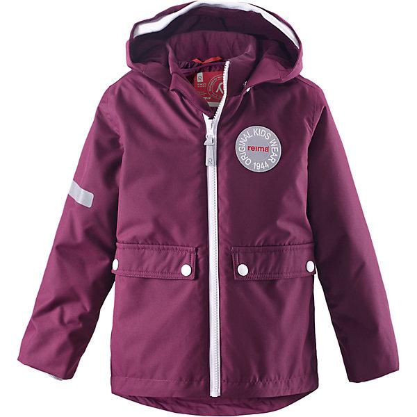 Куртка Taag для девочки  ReimaОдежда<br>Куртка  Reima<br>Зимняя куртка для детей. Основные швы проклеены и не пропускают влагу. Водо- и ветронепроницаемый, «дышащий» и грязеотталкивающий материал. Съемная стеганная подкладка. Безопасный, съемный капюшон. Мягкая резинка на кромке капюшона и манжетах. Регулируемый подол. Два кармана с клапанами.<br>Утеплитель: Reima® Soft Loft insulation,160 g<br>Уход:<br>Стирать по отдельности, вывернув наизнанку. Застегнуть молнии и липучки. Стирать моющим средством, не содержащим отбеливающие вещества. Полоскать без специального средства. Во избежание изменения цвета изделие необходимо вынуть из стиральной машинки незамедлительно после окончания программы стирки. Сушить при низкой температуре. <br>Состав:<br>100% Полиамид, полиуретановое покрытие<br>Ширина мм: 684; Глубина мм: 462; Высота мм: 93; Вес г: 818; Цвет: розовый; Возраст от месяцев: 108; Возраст до месяцев: 120; Пол: Женский; Возраст: Детский; Размер: 140,110,104,92,116,122,98,128,134; SKU: 4777906;