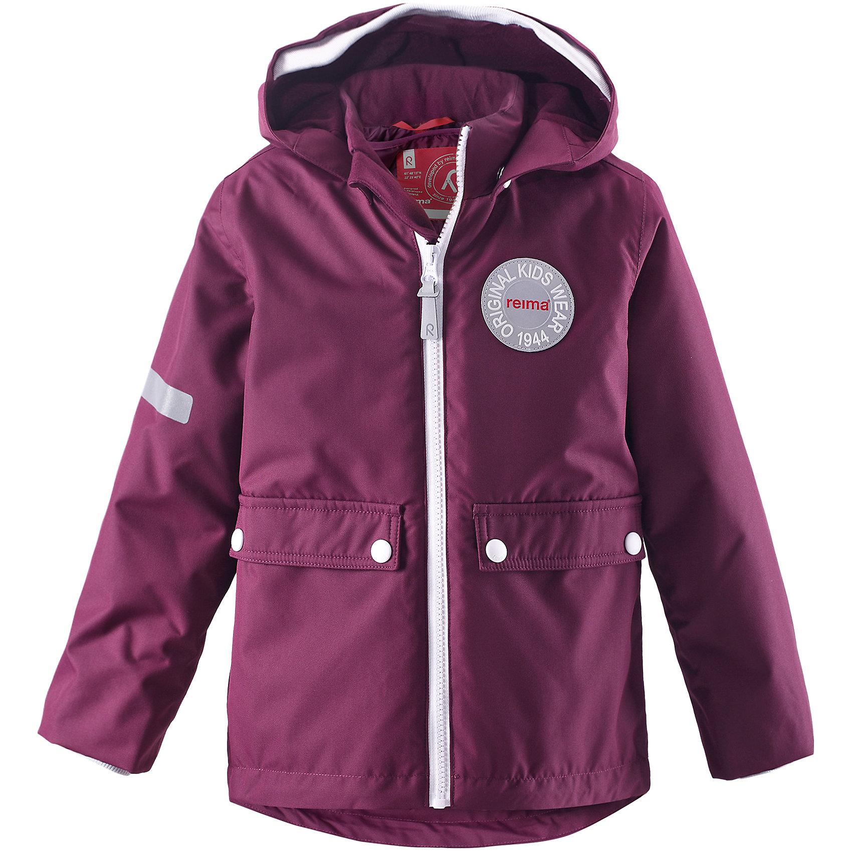 Куртка Taag для девочки  ReimaОдежда<br>Куртка  Reima<br>Зимняя куртка для детей. Основные швы проклеены и не пропускают влагу. Водо- и ветронепроницаемый, «дышащий» и грязеотталкивающий материал. Съемная стеганная подкладка. Безопасный, съемный капюшон. Мягкая резинка на кромке капюшона и манжетах. Регулируемый подол. Два кармана с клапанами.<br>Утеплитель: Reima® Soft Loft insulation,160 g<br>Уход:<br>Стирать по отдельности, вывернув наизнанку. Застегнуть молнии и липучки. Стирать моющим средством, не содержащим отбеливающие вещества. Полоскать без специального средства. Во избежание изменения цвета изделие необходимо вынуть из стиральной машинки незамедлительно после окончания программы стирки. Сушить при низкой температуре. <br>Состав:<br>100% Полиамид, полиуретановое покрытие<br><br>Ширина мм: 623<br>Глубина мм: 429<br>Высота мм: 83<br>Вес г: 735<br>Цвет: розовый<br>Возраст от месяцев: 72<br>Возраст до месяцев: 84<br>Пол: Женский<br>Возраст: Детский<br>Размер: 128,116,122,98,140,134,110,104,92<br>SKU: 4777906