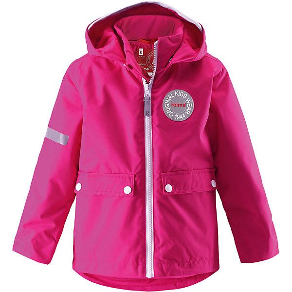 Куртка Taag для девочки ReimaОдежда<br>Куртка  Reima<br>Зимняя куртка для детей. Основные швы проклеены и не пропускают влагу. Водо- и ветронепроницаемый, «дышащий» и грязеотталкивающий материал. Съемная стеганная подкладка. Безопасный, съемный капюшон. Мягкая резинка на кромке капюшона и манжетах. Регулируемый подол. Два кармана с клапанами.<br>Утеплитель: Reima® Soft Loft insulation,160 g<br>Уход:<br>Стирать по отдельности, вывернув наизнанку. Застегнуть молнии и липучки. Стирать моющим средством, не содержащим отбеливающие вещества. Полоскать без специального средства. Во избежание изменения цвета изделие необходимо вынуть из стиральной машинки незамедлительно после окончания программы стирки. Сушить при низкой температуре. <br>Состав:<br>100% Полиамид, полиуретановое покрытие<br><br>Ширина мм: 356<br>Глубина мм: 10<br>Высота мм: 245<br>Вес г: 519<br>Цвет: розовый<br>Возраст от месяцев: 84<br>Возраст до месяцев: 96<br>Пол: Женский<br>Возраст: Детский<br>Размер: 128,134,140,122,104,116,110,98,92<br>SKU: 4777916