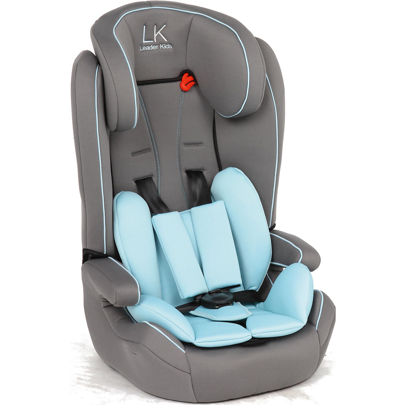 Автокресло SORRENTO, 9-36 кг., Leader kids, серый/голубойУдобное автокресло - необходимый атрибут современной семьи, в которой есть машина. Это высокотехнологичное надежное автокресло позволит перевозить ребенка, не беспокоясь при этом о его безопасности. Оно предназначено для предназначено для детей весом от 9 до 36 килограмм. Такое кресло обеспечит малышу не только безопасность, но и удобство (регулируемый наклон спинки и мягкий подголовник). Ребенок надежно фиксируется в кресле и ездит с комфортом. <br>Автокресло устанавливают по ходу движения. Такое кресло дает возможность свободно путешествовать, ездить в гости и при этом  быть рядом с малышом. Конструкция - очень удобная и прочная. Изделие произведено из качественных и безопасных для малышей материалов, оно соответствуют всем современным требованиям безопасности. Кресло отлично показало себя на краш-тестах.<br> <br>Дополнительная информация:<br><br>цвет: голубой, серый;<br>материал: текстиль, пластик;<br>вес ребенка: от 9 до 36 кг;<br>крепление автомобильным ремнем;<br>регулируемый наклон спинки;<br>внутренние ремни - пятиточечные, с мягкими накладками;<br>мягкий подголовник;<br>дополнительная защита от боковых ударов;<br>съемный чехол;<br>соответствие стандартам ECE R44/04.<br><br>Автокресло SORRENTO, 9-36 кг., Leader kids, серый/голубой от компании Leader kids можно купить в нашем магазине.<br><br>Ширина мм: 890<br>Глубина мм: 740<br>Высота мм: 430<br>Вес г: 5000<br>Возраст от месяцев: 12<br>Возраст до месяцев: 144<br>Пол: Мужской<br>Возраст: Детский<br>SKU: 4778439