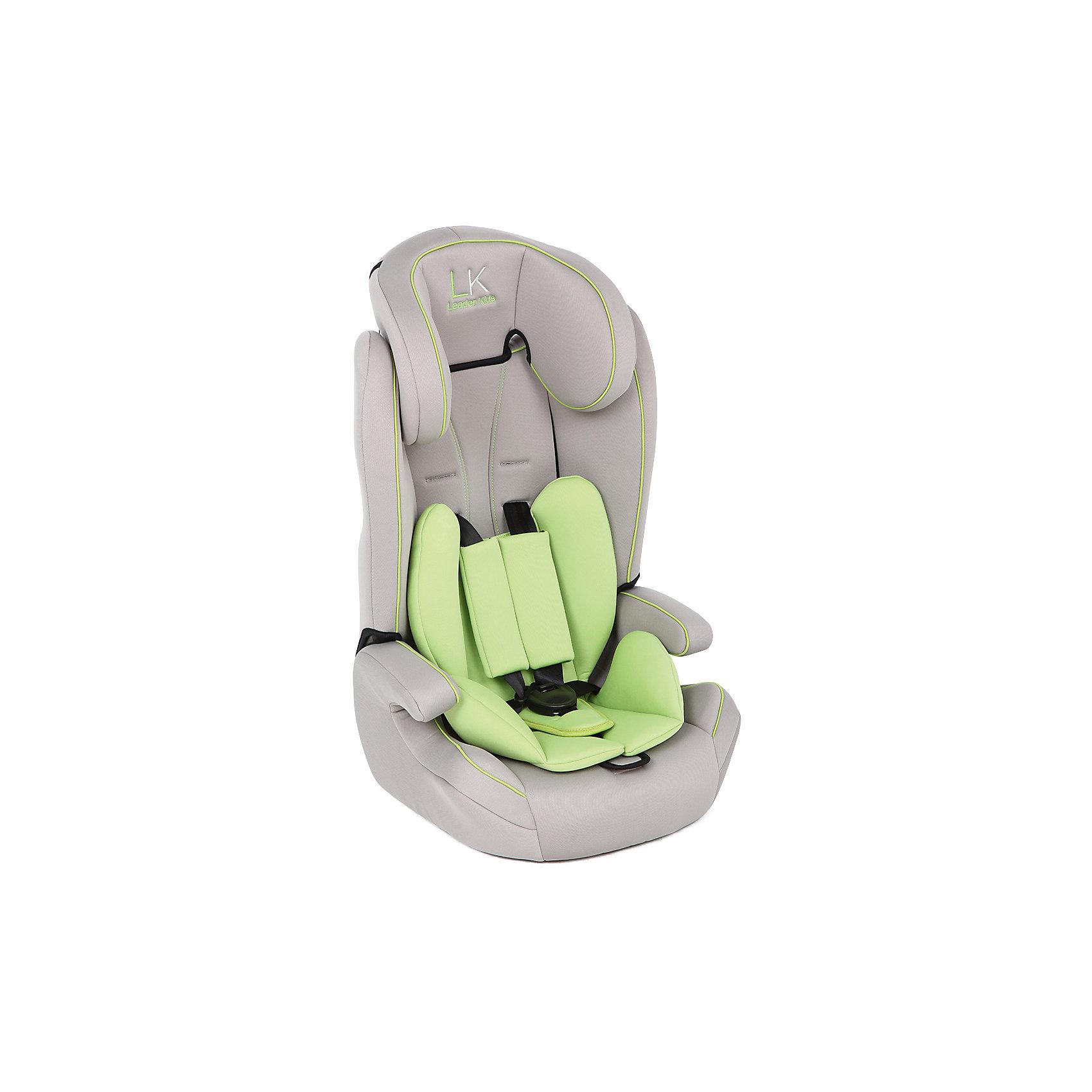 Автокресло SORRENTO, 9-36 кг., Leader kids, серый/зеленыйУдобное автокресло - необходимый атрибут современной семьи, в которой есть машина. Это высокотехнологичное надежное автокресло позволит перевозить ребенка, не беспокоясь при этом о его безопасности. Оно предназначено для предназначено для детей весом от 9 до 36 килограмм. Такое кресло обеспечит малышу не только безопасность, но и удобство (регулируемый наклон спинки и мягкий подголовник). Ребенок надежно фиксируется в кресле и ездит с комфортом. <br>Автокресло устанавливают по ходу движения. Такое кресло дает возможность свободно путешествовать, ездить в гости и при этом  быть рядом с малышом. Конструкция - очень удобная и прочная. Изделие произведено из качественных и безопасных для малышей материалов, оно соответствуют всем современным требованиям безопасности. Кресло отлично показало себя на краш-тестах.<br> <br>Дополнительная информация:<br><br>цвет: серый, зеленый;<br>материал: текстиль, пластик;<br>вес ребенка: от 9 до 36 кг;<br>крепление автомобильным ремнем;<br>регулируемый наклон спинки;<br>внутренние ремни - пятиточечные, с мягкими накладками;<br>мягкий подголовник;<br>дополнительная защита от боковых ударов;<br>съемный чехол;<br>соответствие стандартам ECE R44/04.<br><br>Автокресло SORRENTO, 9-36 кг., Leader kids, серый/зеленый от компании Leader kids можно купить в нашем магазине.<br><br>Ширина мм: 890<br>Глубина мм: 740<br>Высота мм: 430<br>Вес г: 5000<br>Возраст от месяцев: 12<br>Возраст до месяцев: 144<br>Пол: Унисекс<br>Возраст: Детский<br>SKU: 4778440