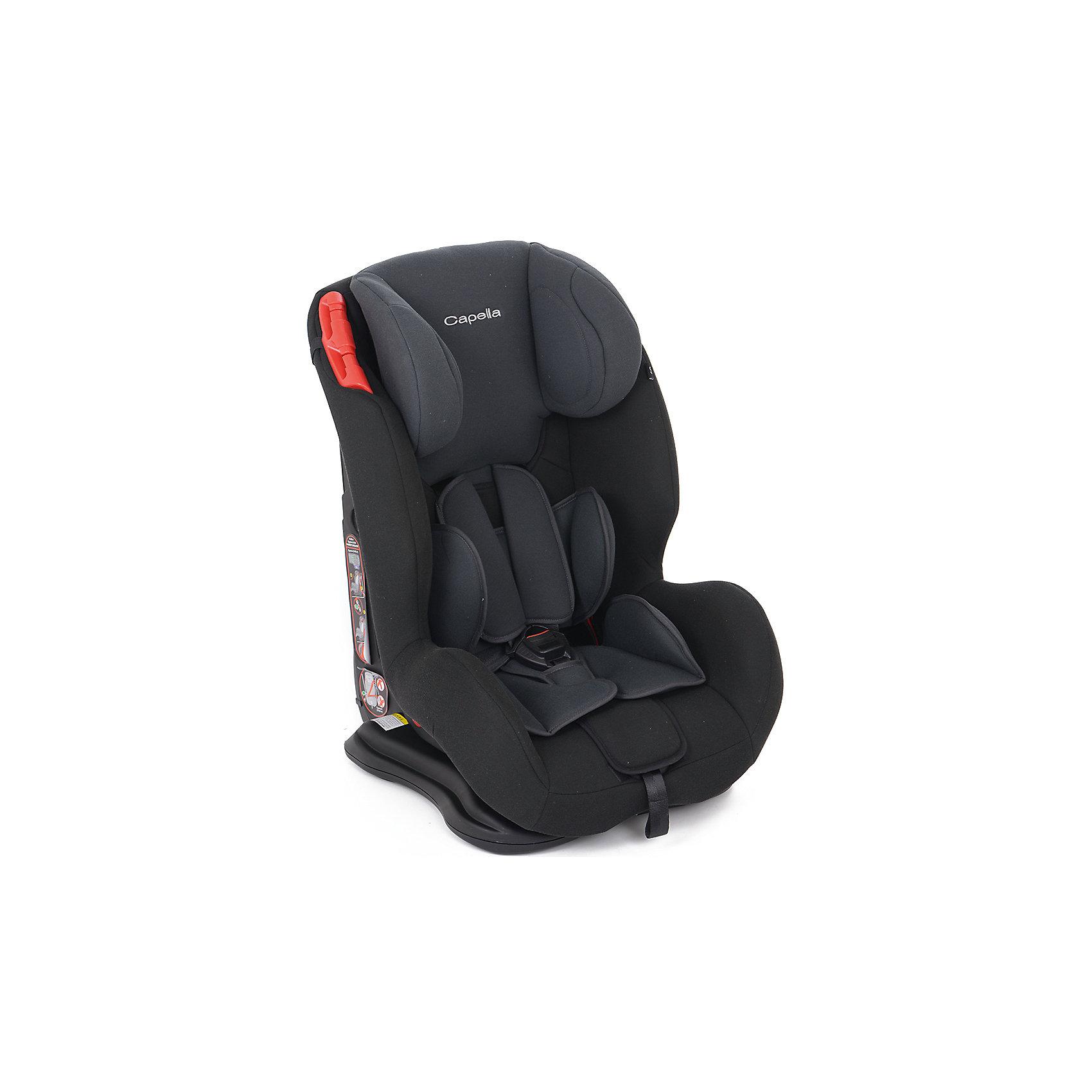 автокресло-9-36-кг-capella-black-stone-т-серый-черный