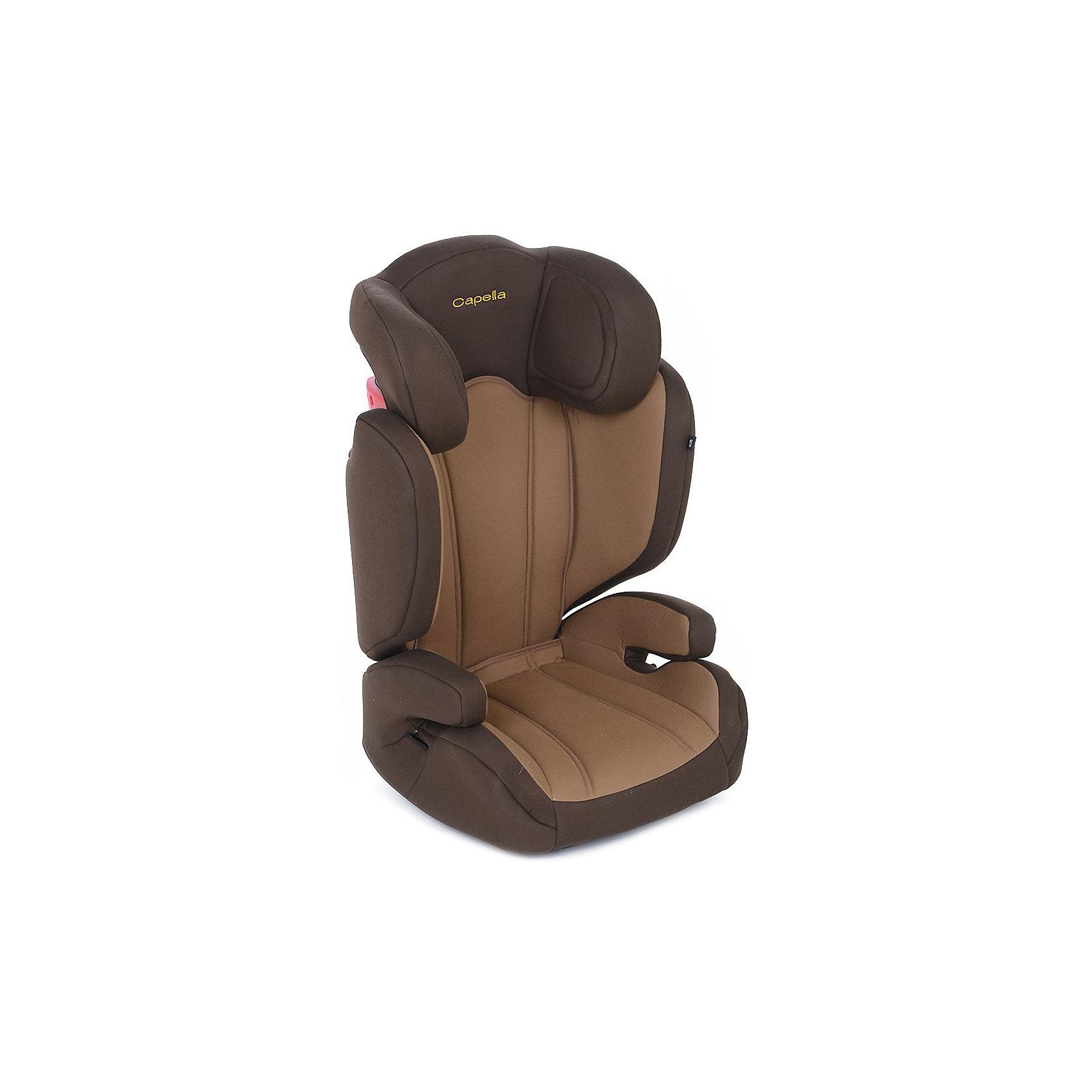 автокресло-15-36-кг-capella-walnut-brown-коричневый-бежевый