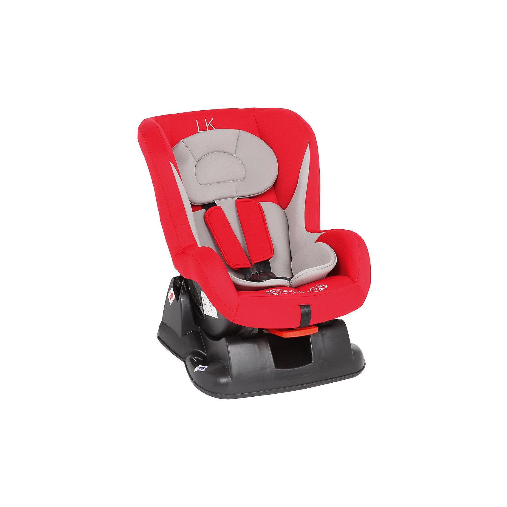 купить Leader kids Автокресло RALLY 0-18 кг., Leader kids, красный/серый дешево