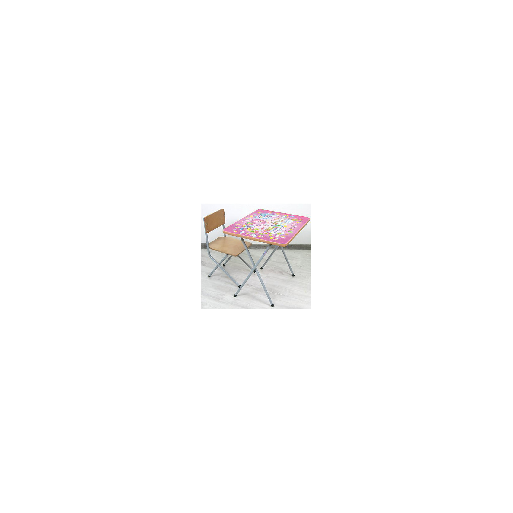 ФЕЯ Комплект детской мебели Алфавит, Фея,  розовый набор мебели для детской индиго 1