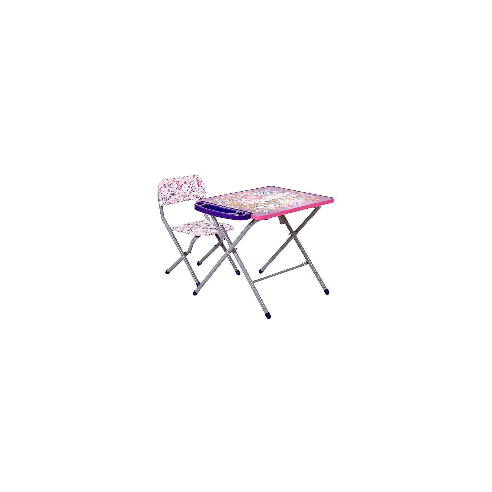 ФЕЯ Комплект детской мебели Алфавит, Фея, сиреневый фея комплект детской мебели алфавит фея сиреневый