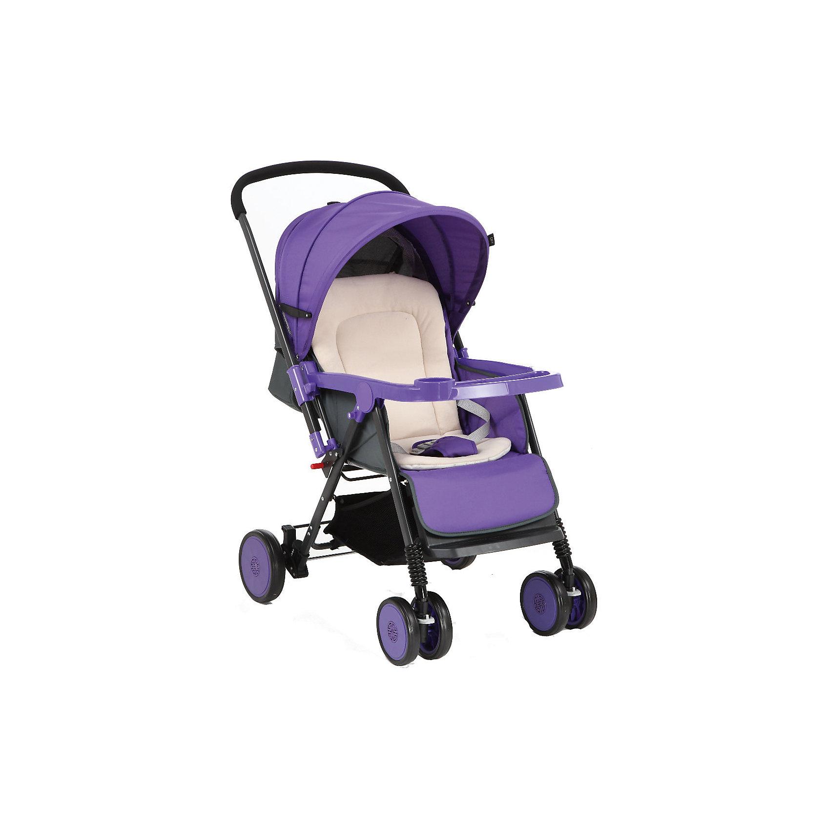 Corol Прогулочная коляска S-7, Corol, фиолетовый corol прогулочная s 3 светло серая