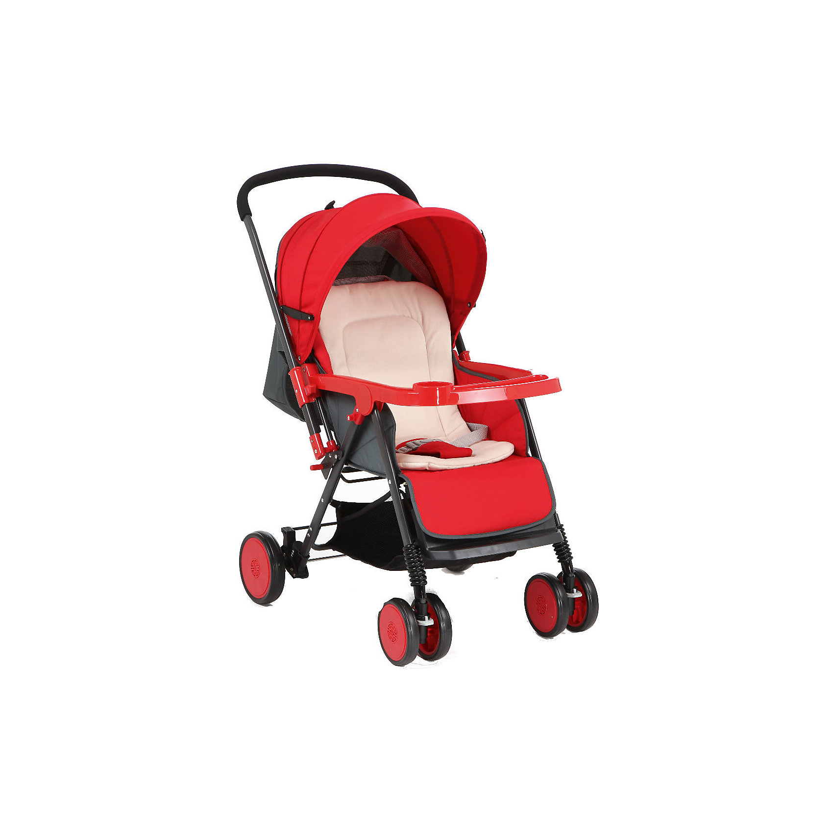 Corol Прогулочная коляска S-7, Corol, красный corol прогулочная s 3 светло серая
