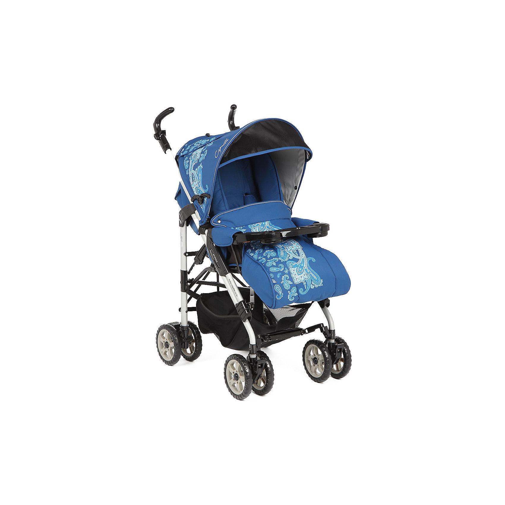 Коляска-трость S-321, Capella, синийУдобная и стильная прогулочная коляска выполнена в современном и удобном дизайне. Прочная коляска-трость позволит перевозить ребенка, не беспокоясь при этом о его безопасности. Приятный цвет коляски практичен и универсален. За счет продуманной формы колес и амортизации коляска отлично будет ехать как по не ровной дороге, так и по снегу. Коляска легкая и прочная.<br>Конструкция - очень устойчивая. Модель дополнена 5-точечными ремнями безопасности. Изделие произведено из качественных и безопасных для малышей материалов, оно соответствуют всем современным требованиям безопасности.<br><br>Дополнительная информация:<br><br>цвет: синий;<br>механизм складывания: трость; <br>возраст ребенка: от 6 месяцев;<br>вес коляски: 10,2 кг;<br>4 двойных колеса;<br>фиксация передних колес;<br>регулировка подножки по высоте;<br>ремни безопасности: пятиточечные;<br>регулировка ручки по высоте<br>дождевик;<br>москитная сетка;<br>раскладывается на 180 градусов;<br>положение лежа;<br>мягкая подвеска;<br>материал: пластик, металл, текстиль.<br><br>Прогулочную коляску S-321, синий от компании Capella можно купить в нашем магазине.<br><br>Ширина мм: 1000<br>Глубина мм: 530<br>Высота мм: 730<br>Вес г: 10000<br>Возраст от месяцев: 6<br>Возраст до месяцев: 36<br>Пол: Мужской<br>Возраст: Детский<br>SKU: 4778512