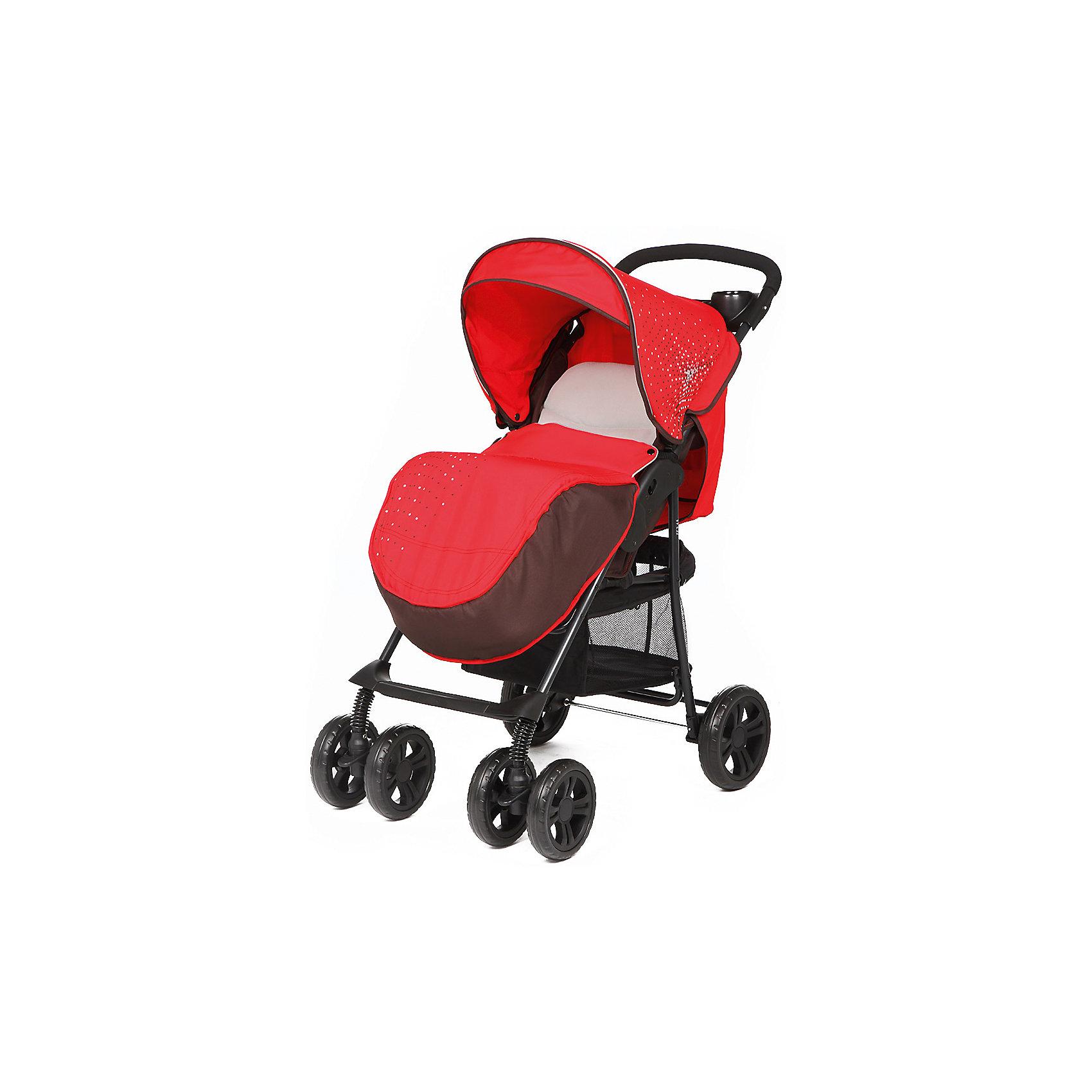 Прогулочная коляска E0970 TEXAS, Mobility One, красныйОблегченная прогулочная коляска выполнена в современном и удобном дизайне. Прочная и удобная коляска позволит перевозить ребенка, не беспокоясь при этом о его безопасности. Приятный цвет коляски практичен и универсален. За счет продуманной формы колес и амортизации коляска отлично будет ехать как по не ровной дороге, так и по снегу. Коляска легкая и прочная.<br>Конструкция - очень устойчивая. Модель дополнена 5-точечными ремнями безопасности. Изделие произведено из качественных и безопасных для малышей материалов, оно соответствуют всем современным требованиям безопасности.<br><br>Дополнительная информация:<br><br>цвет: красный;<br>механизм складывания: книжка; <br>возраст ребенка: от 6 месяцев;<br>вес коляски: 7,1 кг;<br>6 колес;<br>фиксация передних колес;<br>регулировка подножки по высоте;<br>ремни безопасности: пятиточечные;<br>столик, крепящийся на ручке коляски;<br>дождевик;<br>корзина для покупок;<br>раскладывается на 170 градусов;<br>легкая алюминиевая рама;<br>мягкий вкладыш;<br>материал: пластик, металл, текстиль.<br><br>Прогулочную коляску E0970 TEXAS, красный от компании Mobility One можно купить в нашем магазине.<br><br>Ширина мм: 800<br>Глубина мм: 350<br>Высота мм: 1020<br>Вес г: 8400<br>Возраст от месяцев: 6<br>Возраст до месяцев: 36<br>Пол: Женский<br>Возраст: Детский<br>SKU: 4778520