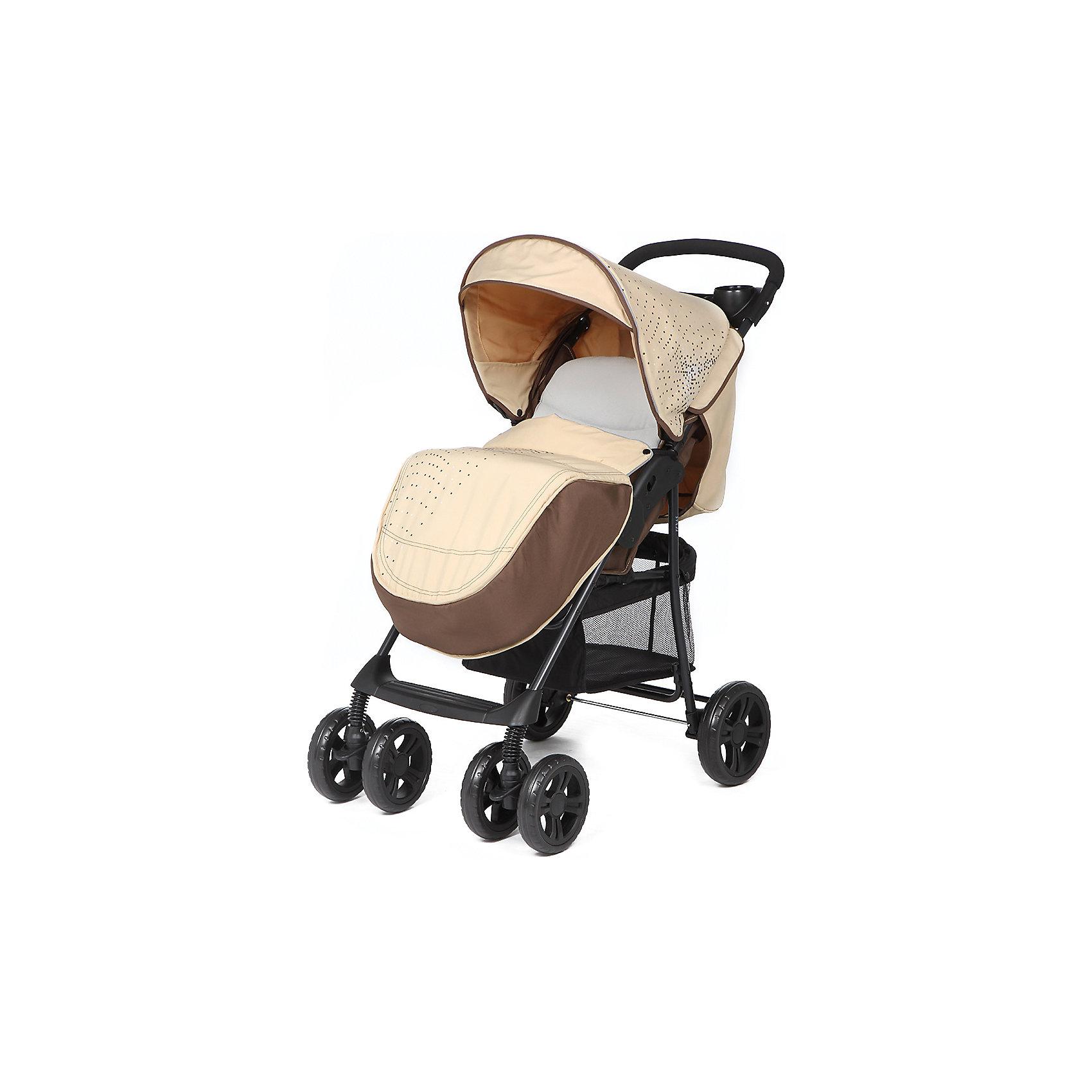 Прогулочная коляска E0970 TEXAS, Mobility One, бежевыйОблегченная прогулочная коляска выполнена в современном и удобном дизайне. Прочная и удобная коляска позволит перевозить ребенка, не беспокоясь при этом о его безопасности. Приятный цвет коляски практичен и универсален. За счет продуманной формы колес и амортизации коляска отлично будет ехать как по не ровной дороге, так и по снегу. Коляска легкая и прочная.<br>Конструкция - очень устойчивая. Модель дополнена 5-точечными ремнями безопасности. Изделие произведено из качественных и безопасных для малышей материалов, оно соответствуют всем современным требованиям безопасности.<br><br>Дополнительная информация:<br><br>цвет: бежевый;<br>механизм складывания: книжка; <br>возраст ребенка: от 6 месяцев;<br>вес коляски: 7,1 кг;<br>6 колес;<br>фиксация передних колес;<br>регулировка подножки по высоте;<br>ремни безопасности: пятиточечные;<br>столик, крепящийся на ручке коляски;<br>дождевик;<br>корзина для покупок;<br>раскладывается на 170 градусов;<br>легкая алюминиевая рама;<br>мягкий вкладыш;<br>материал: пластик, металл, текстиль.<br><br>Прогулочную коляску E0970 TEXAS, бежевый от компании Mobility One можно купить в нашем магазине.<br><br>Ширина мм: 800<br>Глубина мм: 350<br>Высота мм: 1020<br>Вес г: 8400<br>Возраст от месяцев: 6<br>Возраст до месяцев: 36<br>Пол: Унисекс<br>Возраст: Детский<br>SKU: 4778521