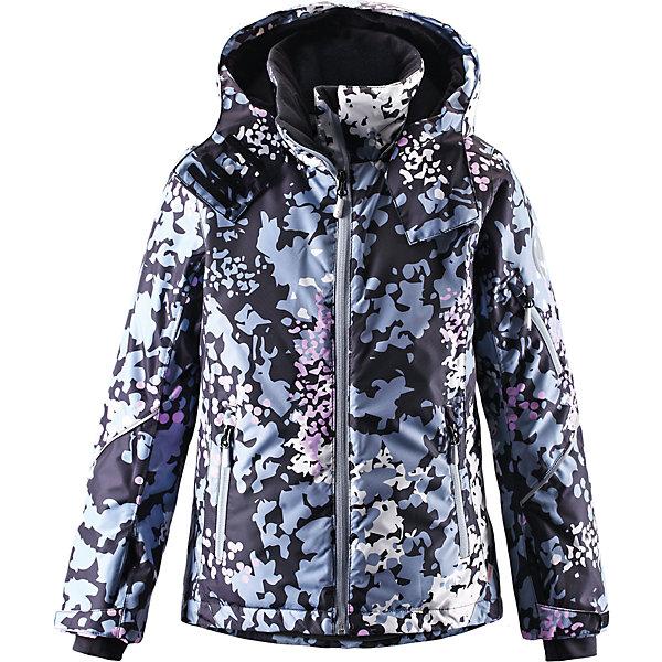 Куртка Glow для девочки ReimaОдежда<br>Куртка для девочки Reima<br>Зимняя куртка для подростков. Основные швы проклеены и не пропускают влагу. Водо- и ветронепроницаемый, «дышащий» и грязеотталкивающий материал. Крой для девочек. Гладкая подкладка из полиэстра. Безопасный, отстегивающийся и регулируемый капюшон. Регулируемые манжеты и внутренние манжеты из лайкры. Регулируемый подол, снегозащитный манжет на талии. Новая усовершенствованная молния — больше не застревает! Карманы на молнии, карман для skipass на рукаве. Карман для очков и внутренний нагрудный карман. Принт по всей поверхности.<br>Утеплитель: Reima® Flex insulation,140 g<br>Уход:<br>Стирать по отдельности, вывернув наизнанку. Застегнуть молнии и липучки. Стирать моющим средством, не содержащим отбеливающие вещества. Полоскать без специального средства. Во избежание изменения цвета изделие необходимо вынуть из стиральной машинки незамедлительно после окончания программы стирки. Сушить при низкой температуре.<br>Состав:<br>100% Полиамид, полиуретановое покрытие<br><br>Ширина мм: 356<br>Глубина мм: 10<br>Высота мм: 245<br>Вес г: 519<br>Цвет: голубой<br>Возраст от месяцев: 36<br>Возраст до месяцев: 48<br>Пол: Женский<br>Возраст: Детский<br>Размер: 164,140,110,116,122,128,104,134,146,152,158<br>SKU: 4778633