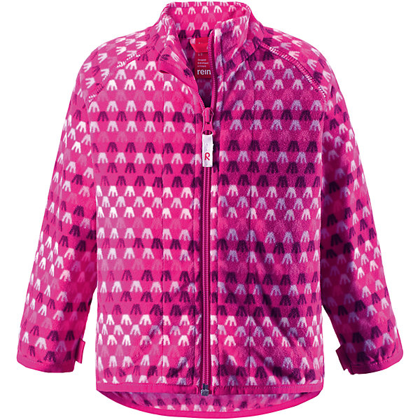 Куртка флисовая Vemmel ReimaОдежда<br>Куртка флисовая  Reima<br>Флисовая куртка для малышей. Выводит влагу наружу и быстро сохнет. Теплый, легкий и быстросохнущий поларфлис. Может пристегиваться к верхней одежде Reima® кнопками Play Layers®. Эластичные манжеты. Удлиненный подол сзади. Молния по всей длине с защитой подбородка. Принт по всей поверхности.<br>Уход:<br>Стирать по отдельности, вывернув наизнанку. Застегнуть молнии. Стирать моющим средством, не содержащим отбеливающие вещества. Полоскать без специального средства.  Сушить при низкой температуре.<br>Состав:<br>100% Полиэстер<br>Ширина мм: 356; Глубина мм: 10; Высота мм: 245; Вес г: 519; Цвет: розовый; Возраст от месяцев: 6; Возраст до месяцев: 9; Пол: Женский; Возраст: Детский; Размер: 74,98,80,86,92; SKU: 4778954;