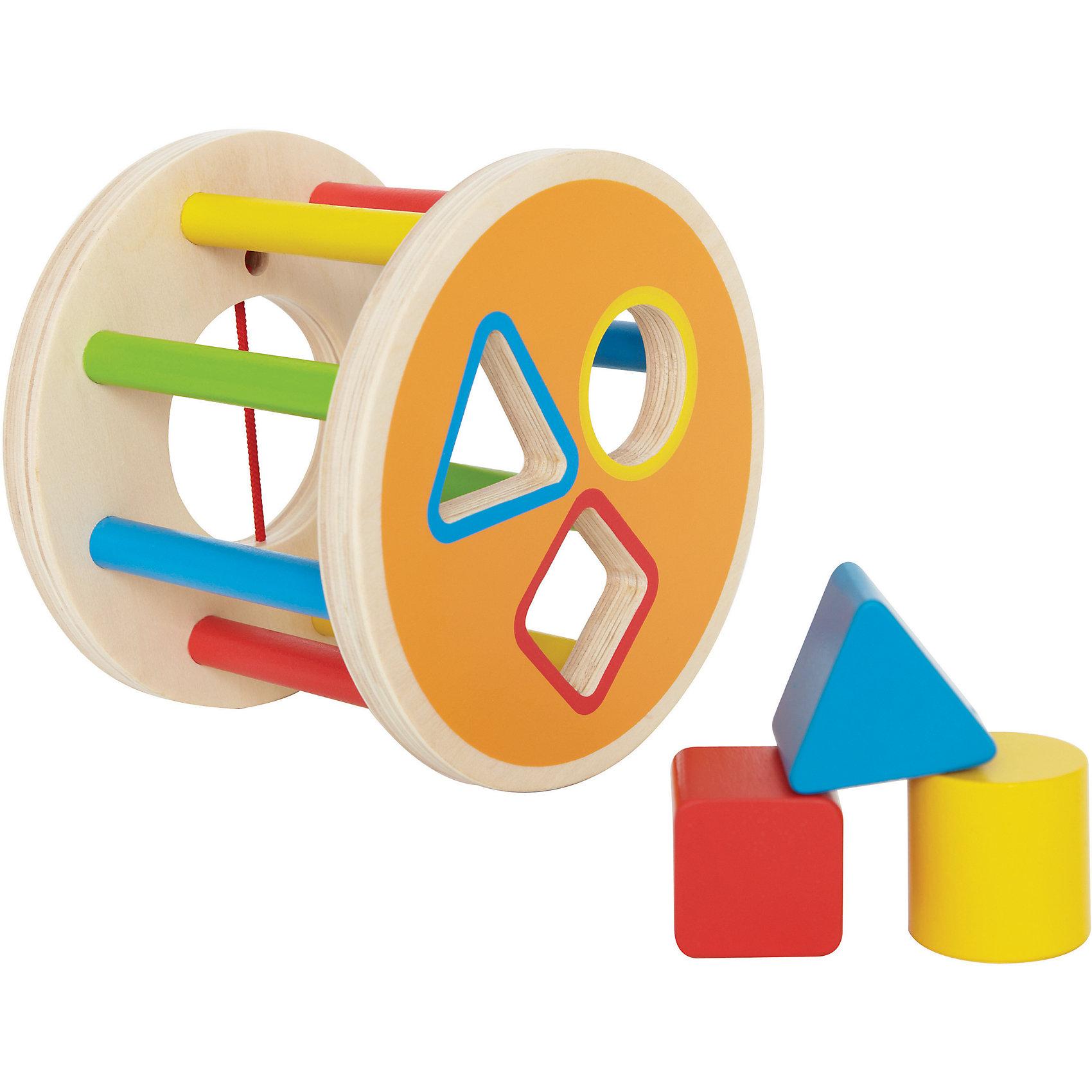 Hape Деревянная игрушка Сортер, Hape hape деревянная игрушка пазл счастливые часы